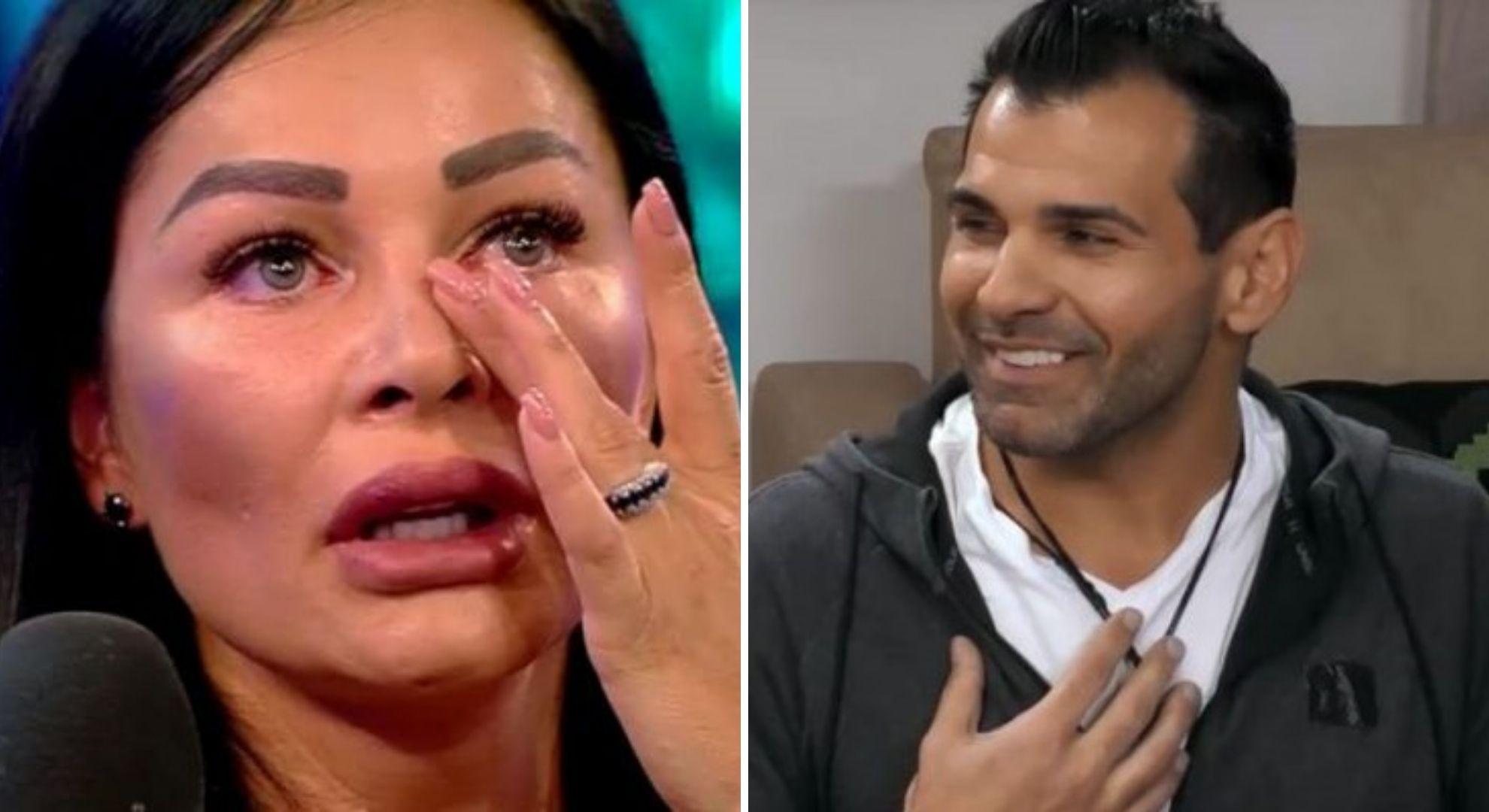 Ceartă cu lacrimi în familia Pastramă. Florin, furios că Brigitte vorbește despre fostul ei soț