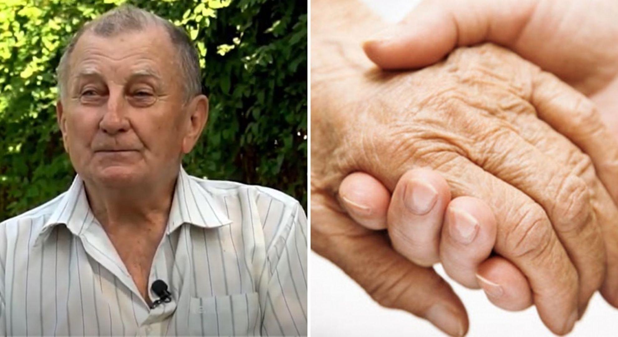Cine nu are bunici, să-și cumpere. Bunicul Petre, de 81 de ani, își crește singur nepoata de 9 ani