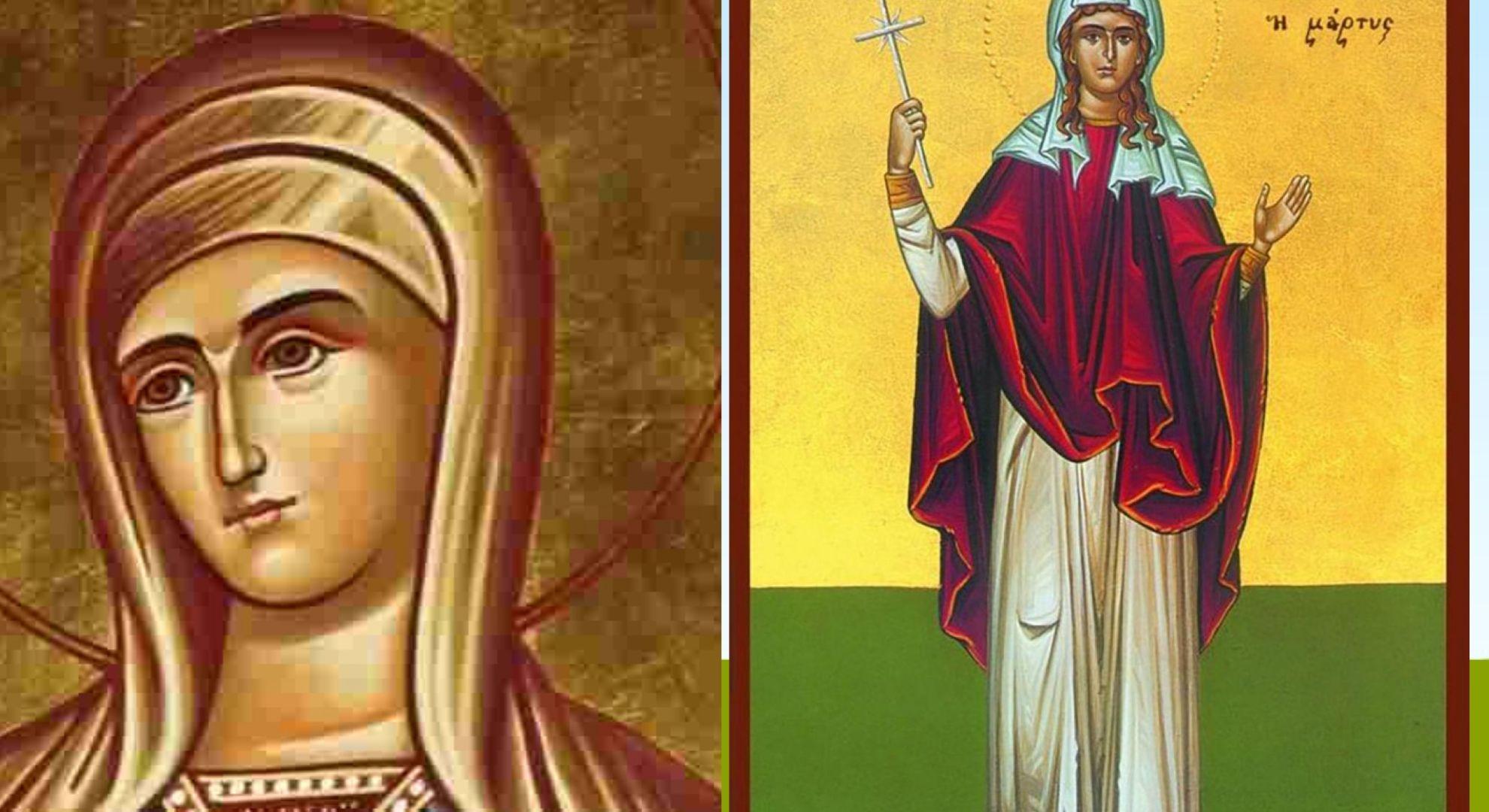 Calendar ortodox 5 octombrie 2020. Sfinte Mucenițe pomenite astăzi