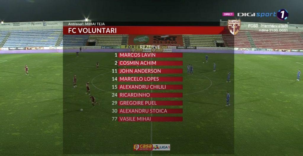 Voluntari - CFR Cluj SCOR 0-0. Bătălie aprigă pentru un loc în Liga 1