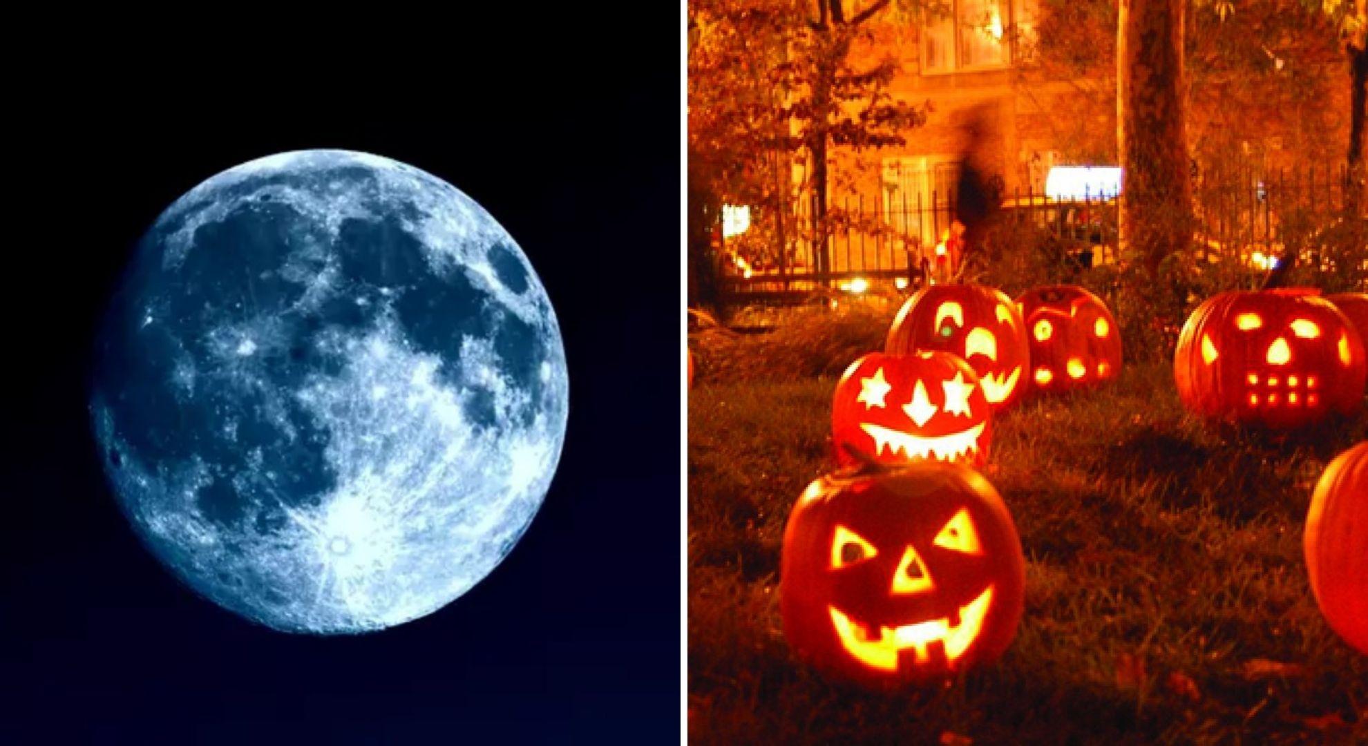 Lună albastră de Halloween. Zodiile care vor fi afectate de acest fenomen