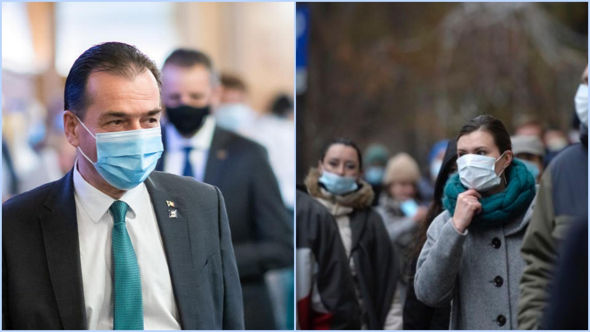 Masca de protecție OBLIGATORIE peste tot în București, de mâine