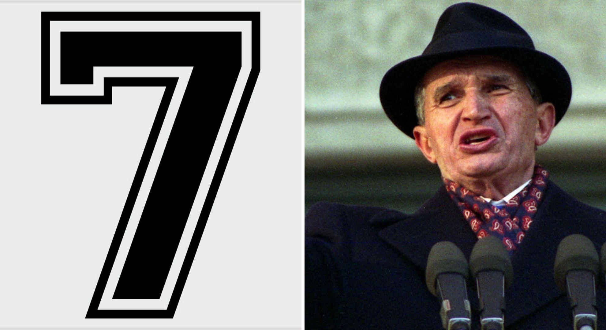 Nicolae Ceaușescu se temea de cifra 7. Decizia care a șocat pe toată lumea