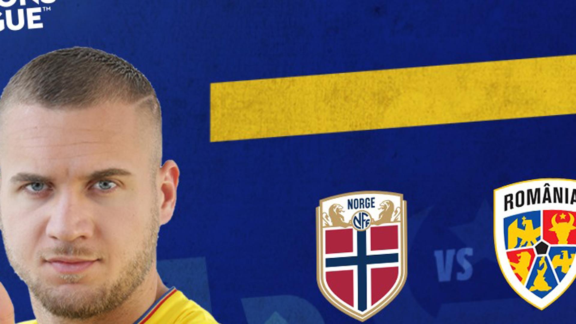 Norvegia - România live de la ora 19 la Pro TV și live video pe protvplus.ro