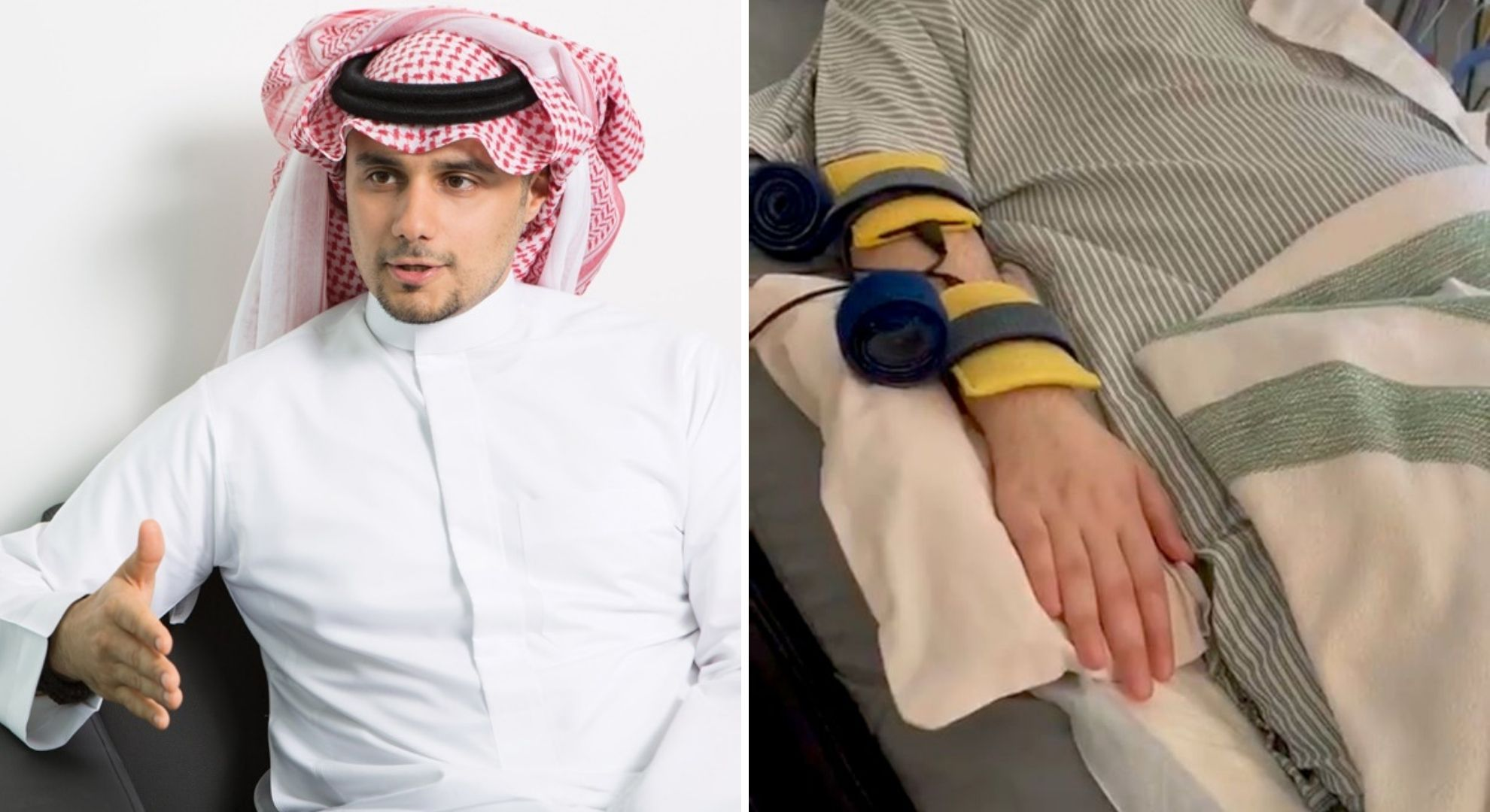 Prințul din Arabia, aflat în comă 15 ani, și-a mișcat degetele, pentru prima dată
