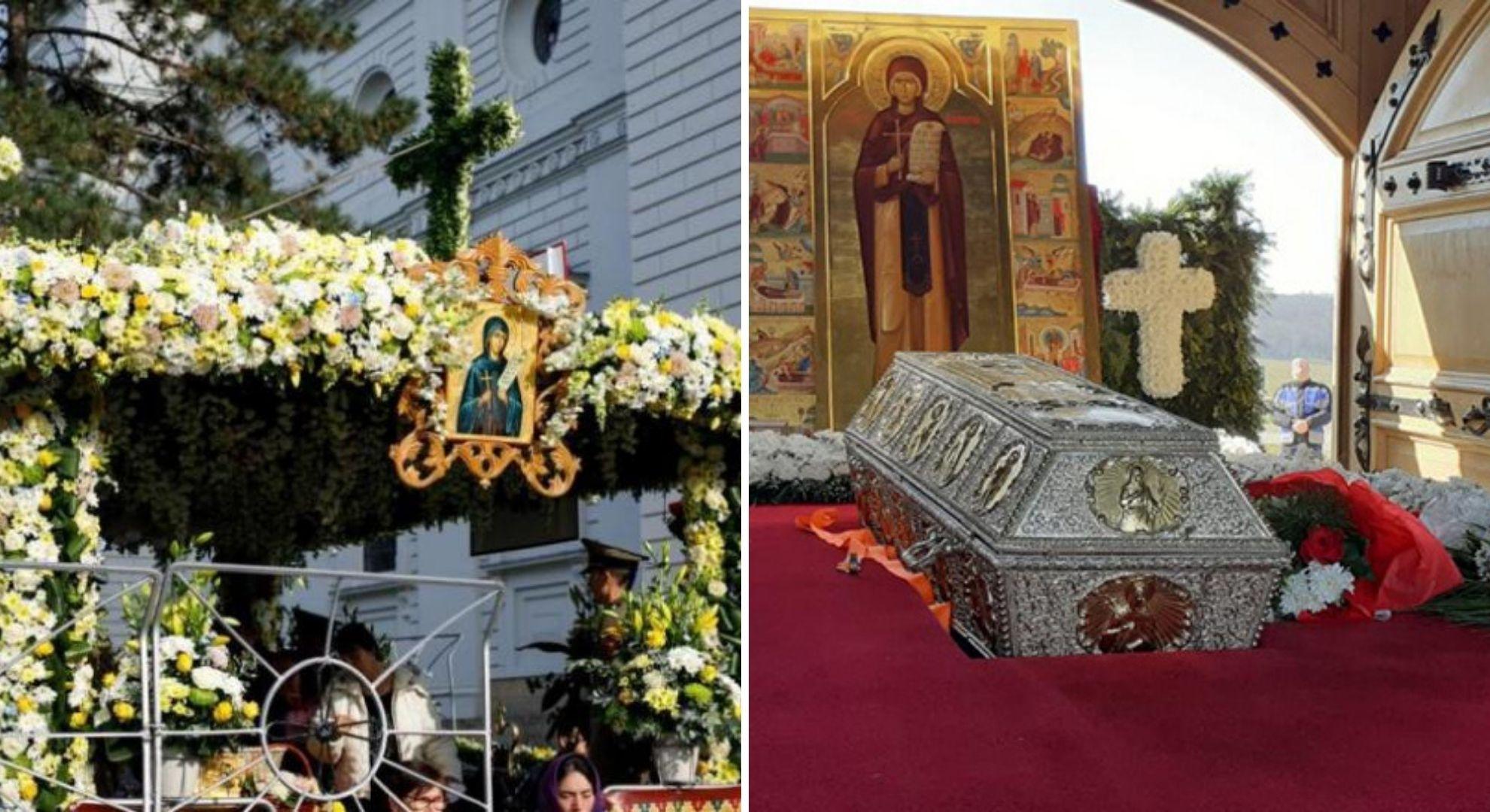 Racla cu moaștele Sfintei Parascheva va fi scoasă din Catedrala Mitropolitană Iași