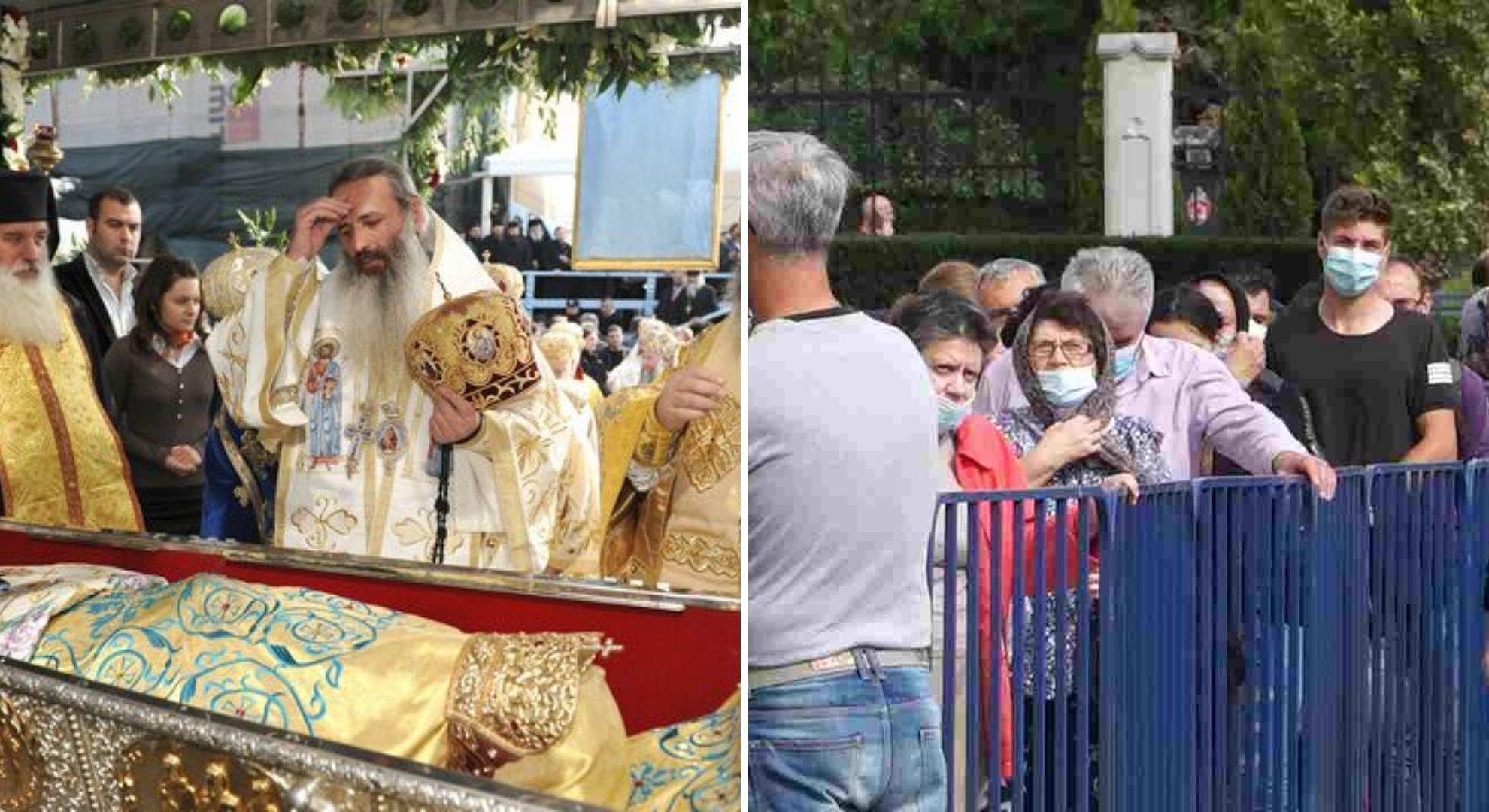 Racla cu moaștele Sfintei Parascheva nu va mai fi scoasă din Catedrală. Decizie istorică