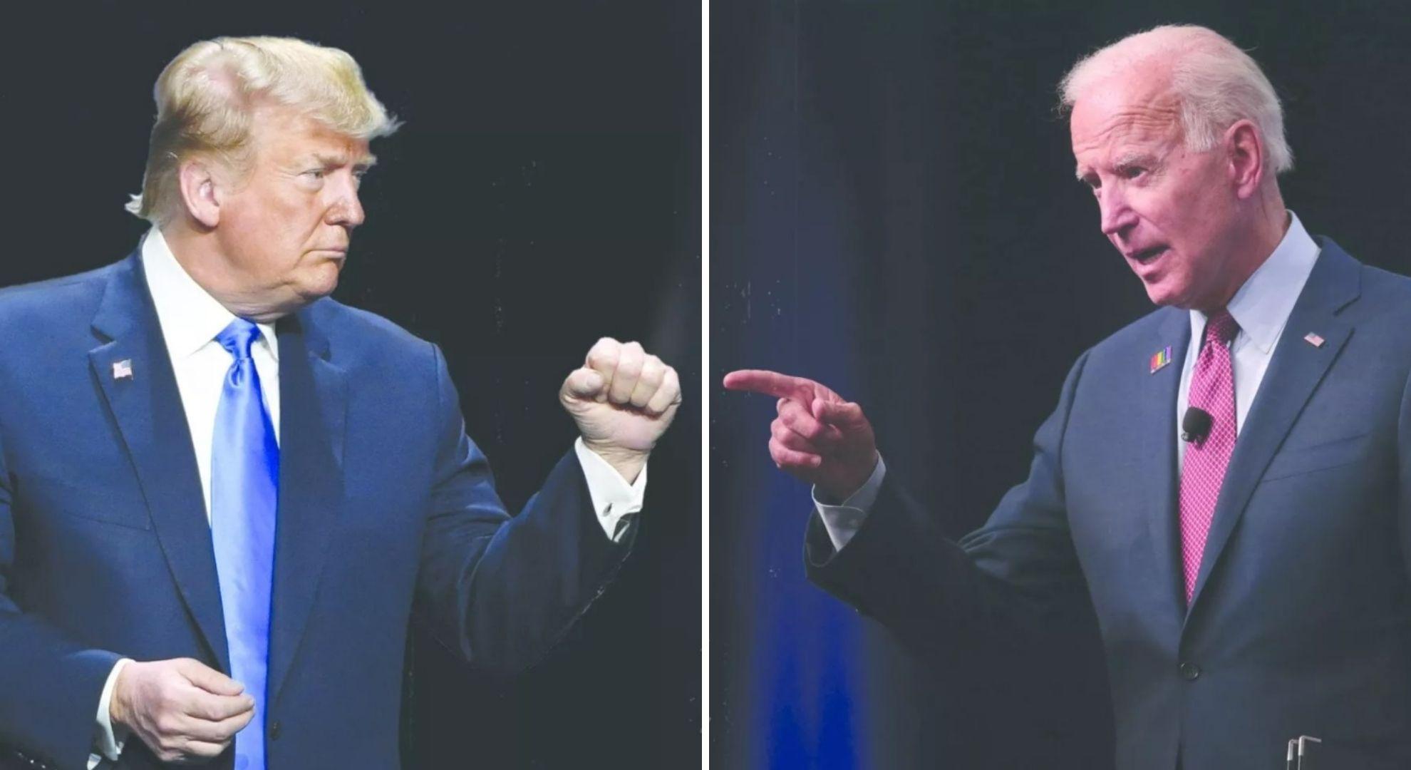 Donald Trump și Joe Biden, dezbatere finală înainte de alegeri