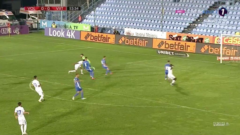 FC Voluntari - Viitorul scor. Viitorul a cerut penalty! Ocazii, viteză, meci frumos