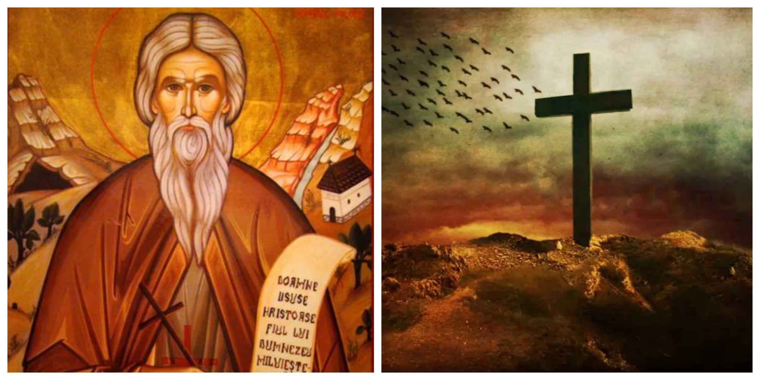 Calendar ortodox 23 noiembrie. Un mare sfânt este rememorat luni. Cruce albastră