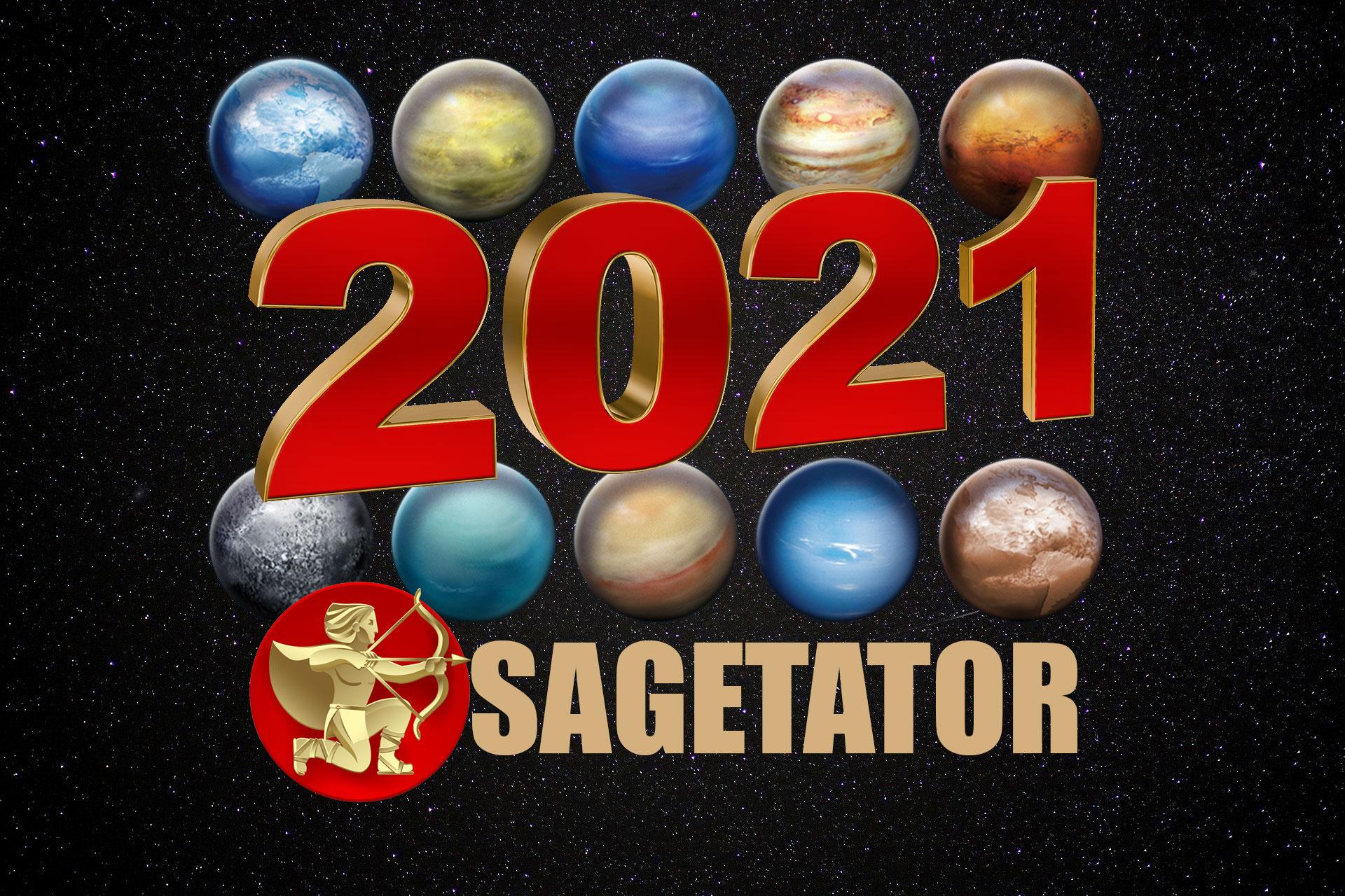 Horoscop 2021 Săgetător - bani, sănătate, dragoste. Surprize pentru nativii singuri