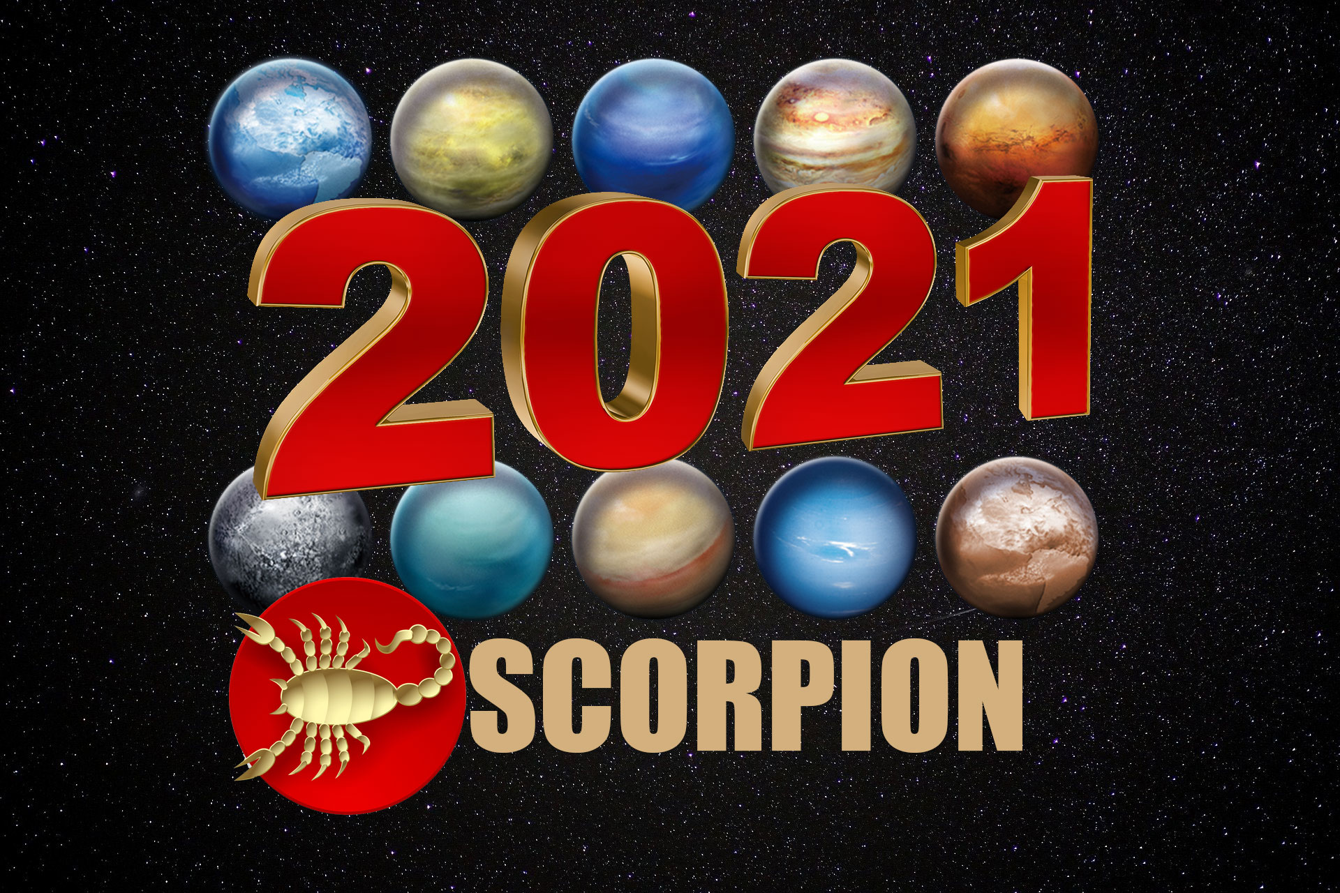 Horoscop 2021 Scorpion - bani, sănătate, dragoste. Un an excelent pentru această zodie