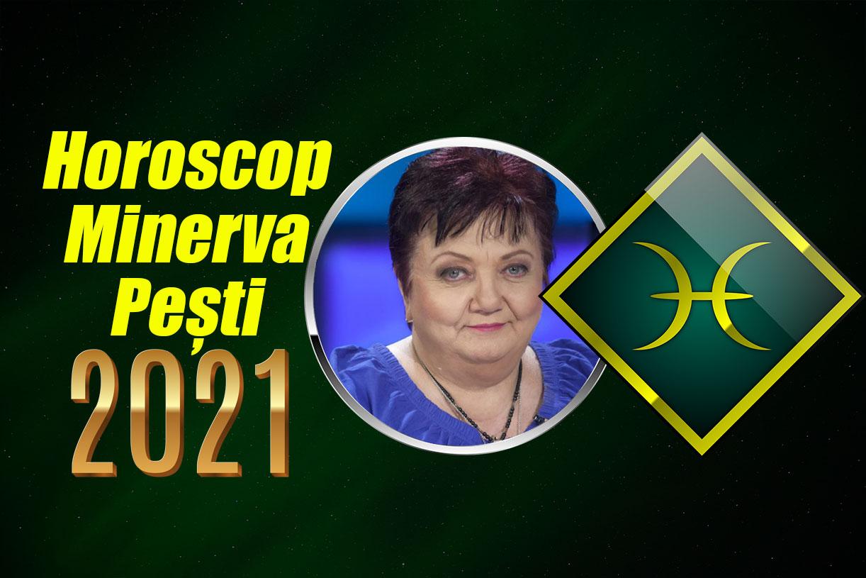 Horoscop Minerva 2021 Pești. Urmează un an plin de oportunități