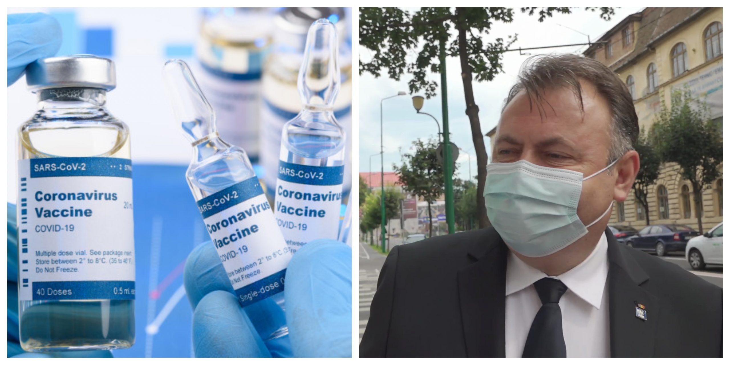 Rafila, anunț important despre vaccin. Va fi sau nu obligatoriu