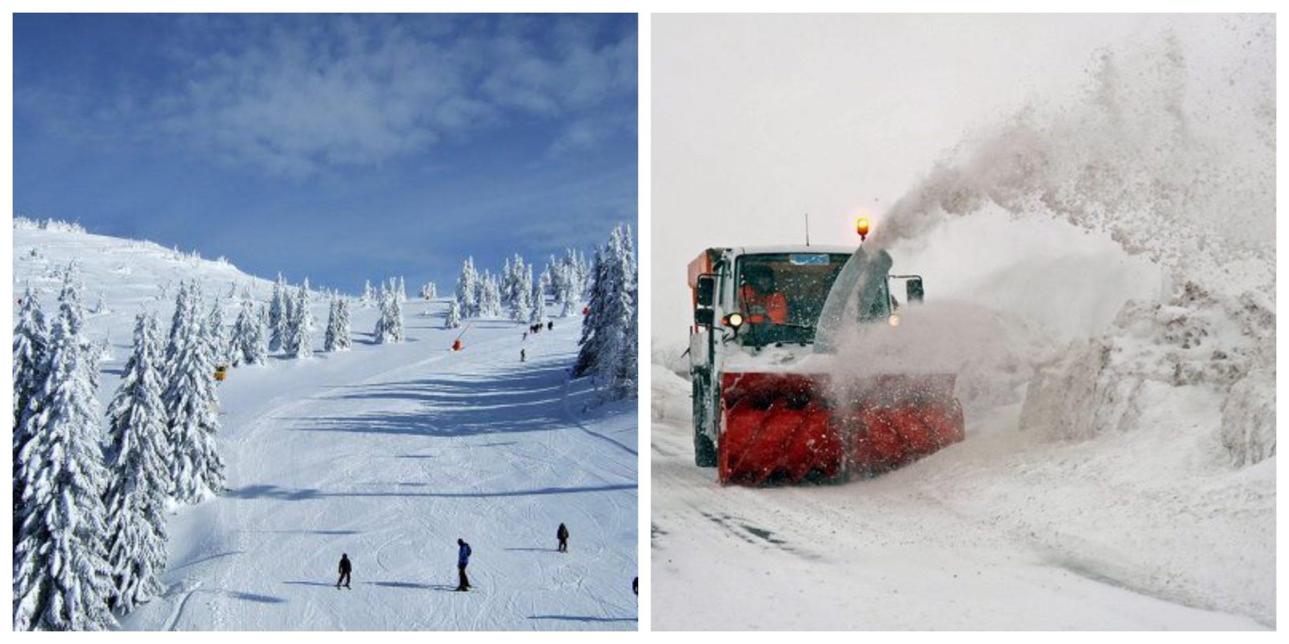 Zăpezile au pus stăpânire pe România. Codul galben de ninsori rămâne valabil și azi