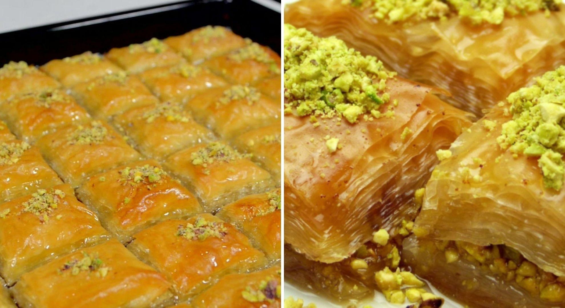 Ziua Baclavalei, regina deserturilor turcești. Cea mai bună rețetă de baclava