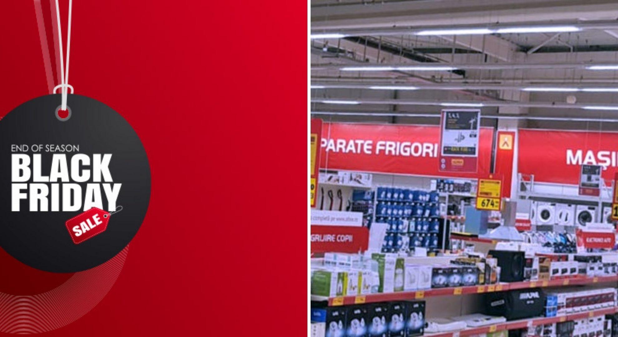 La ce oră începe Black Friday pe eMAG, cel.ro sau Altex. Orarul fiecărui magazin online