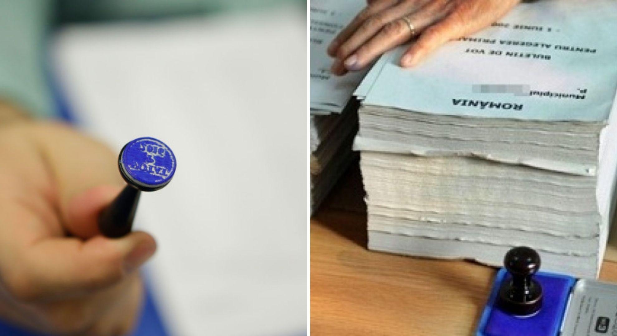 Cum arată buletinul de vot la Alegerile Parlamentare 2020. Foto