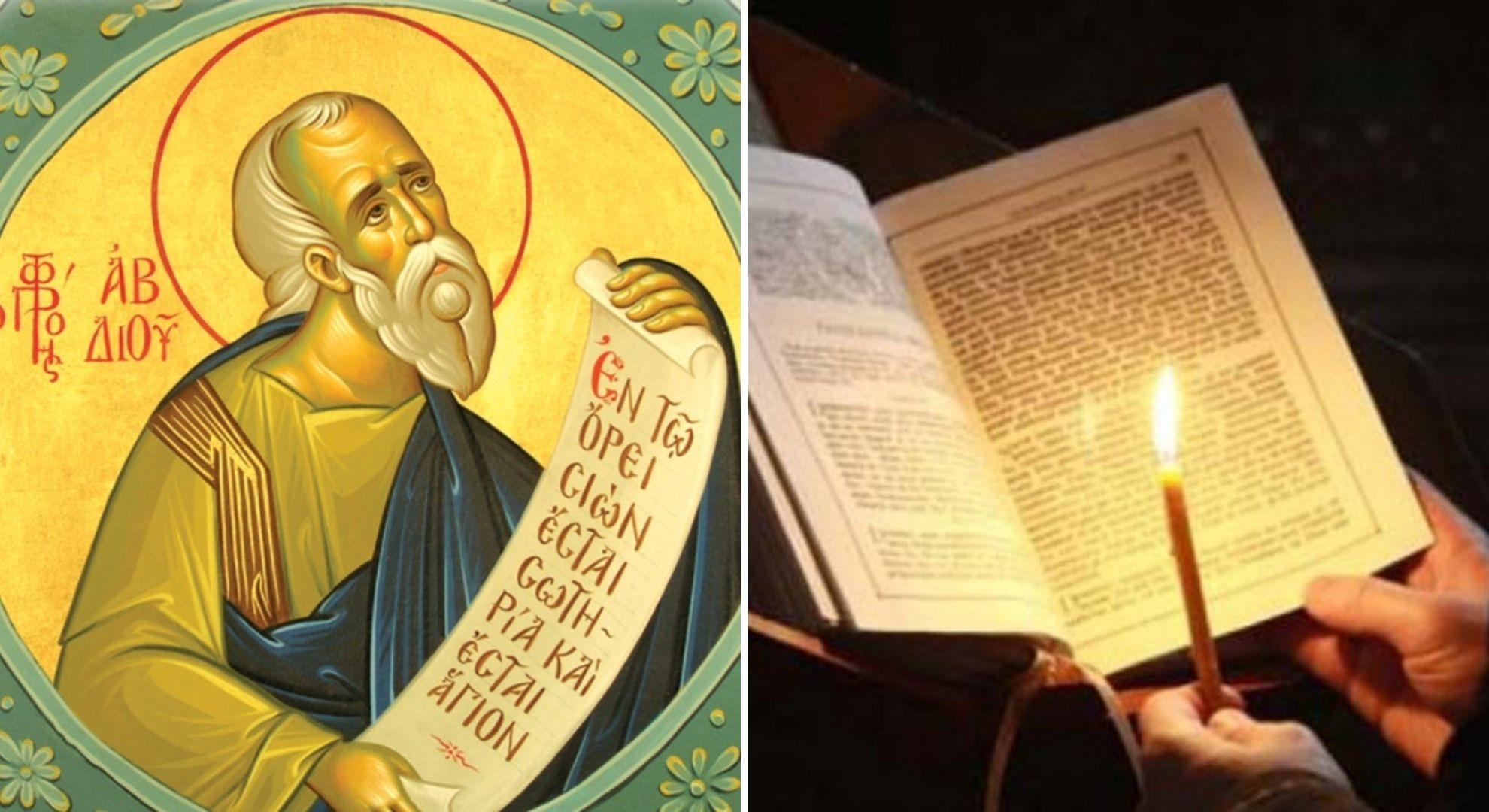 Calendar ortodox 19 noiembrie. Se face dezlegare la ulei și vin