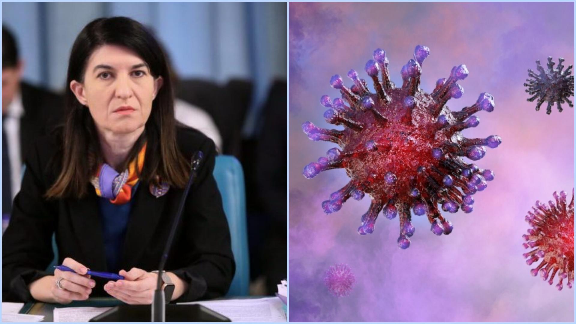 Violeta Alexandru are coronavirus. Anunțul a fost făcut chiar de ministru