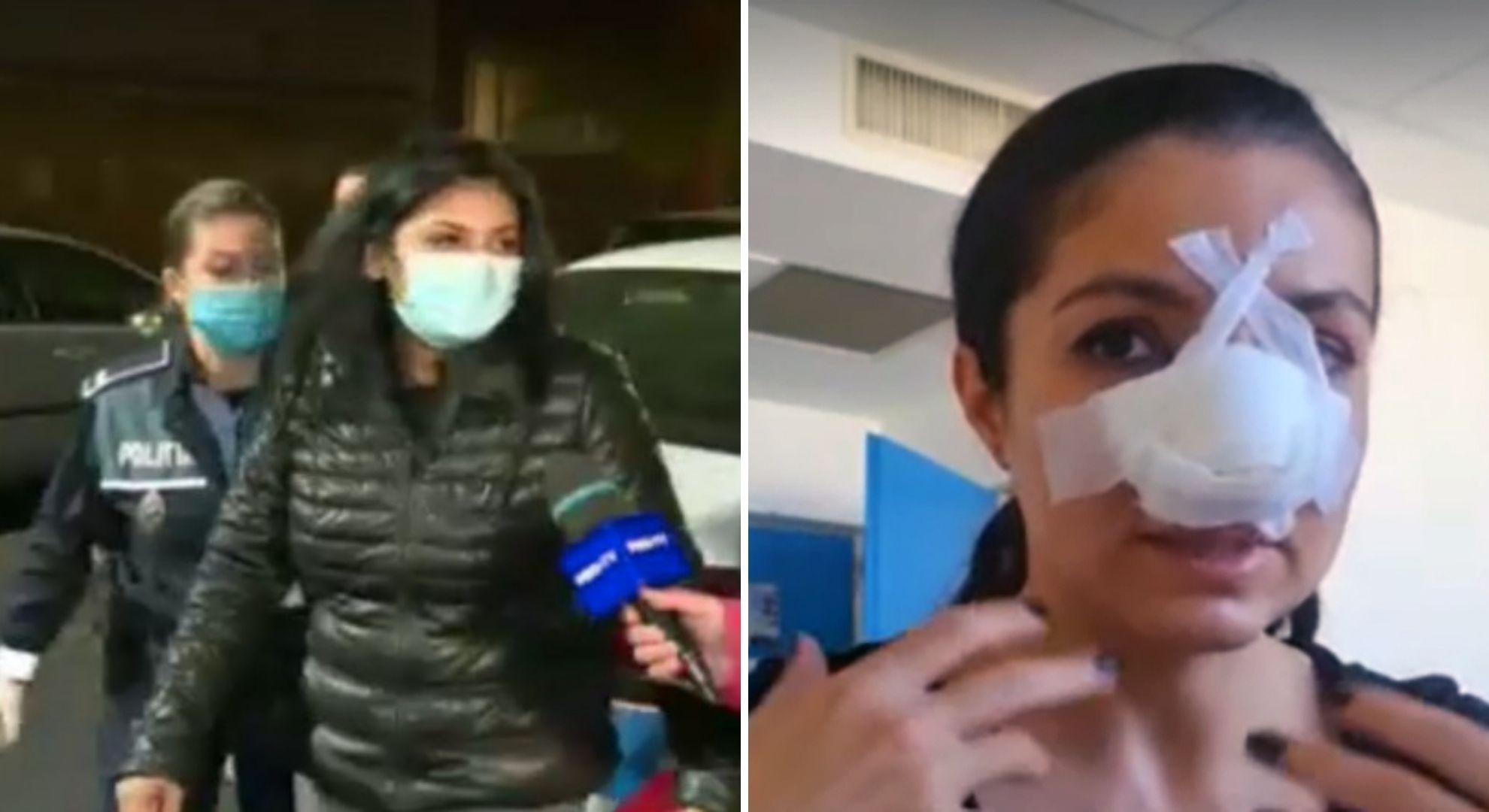 """Agresoarea designerului Cristina Joia, de la """"Visuri la cheie"""", a fost prinsă de polițiști"""