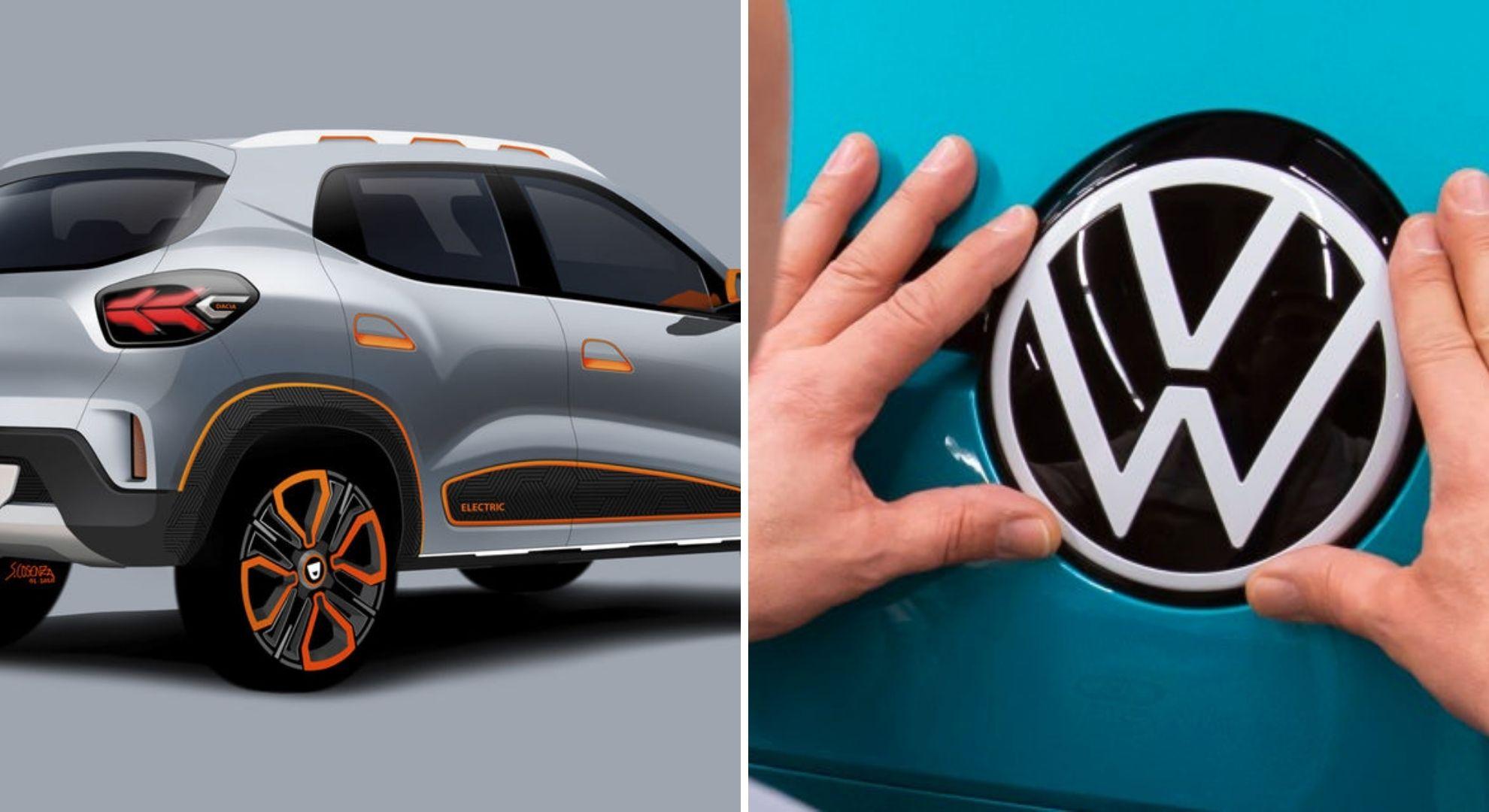 Dacia Spring va avea un rival din partea Volkswagen: o mașină electrică de mărimea unui Polo