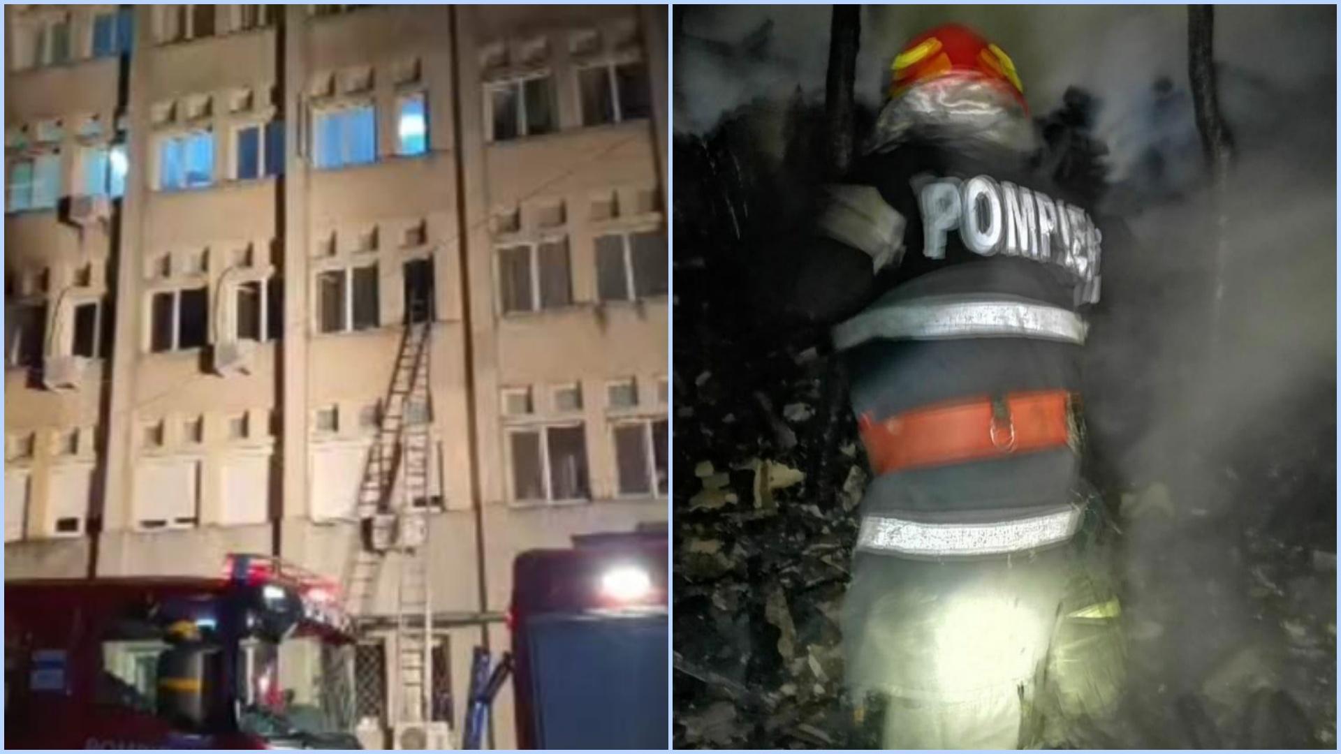 Incendiu la secția de ATI din Spitalul Județean Neamț. Cel puțin 7 morți