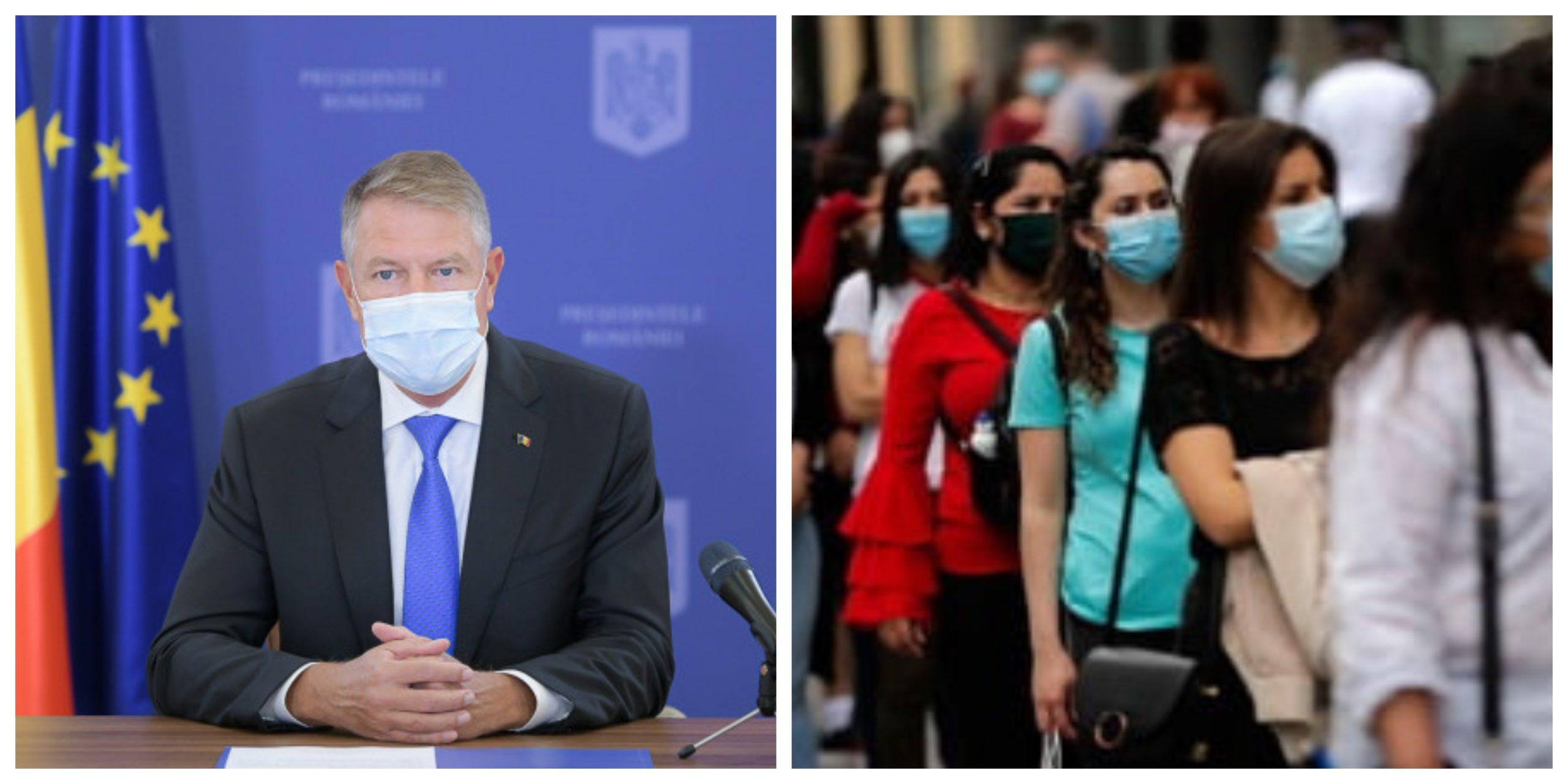 Klaus Iohannis va participa la o nouă conferință de presă. Declarații noi despre evoluția pandemiei România