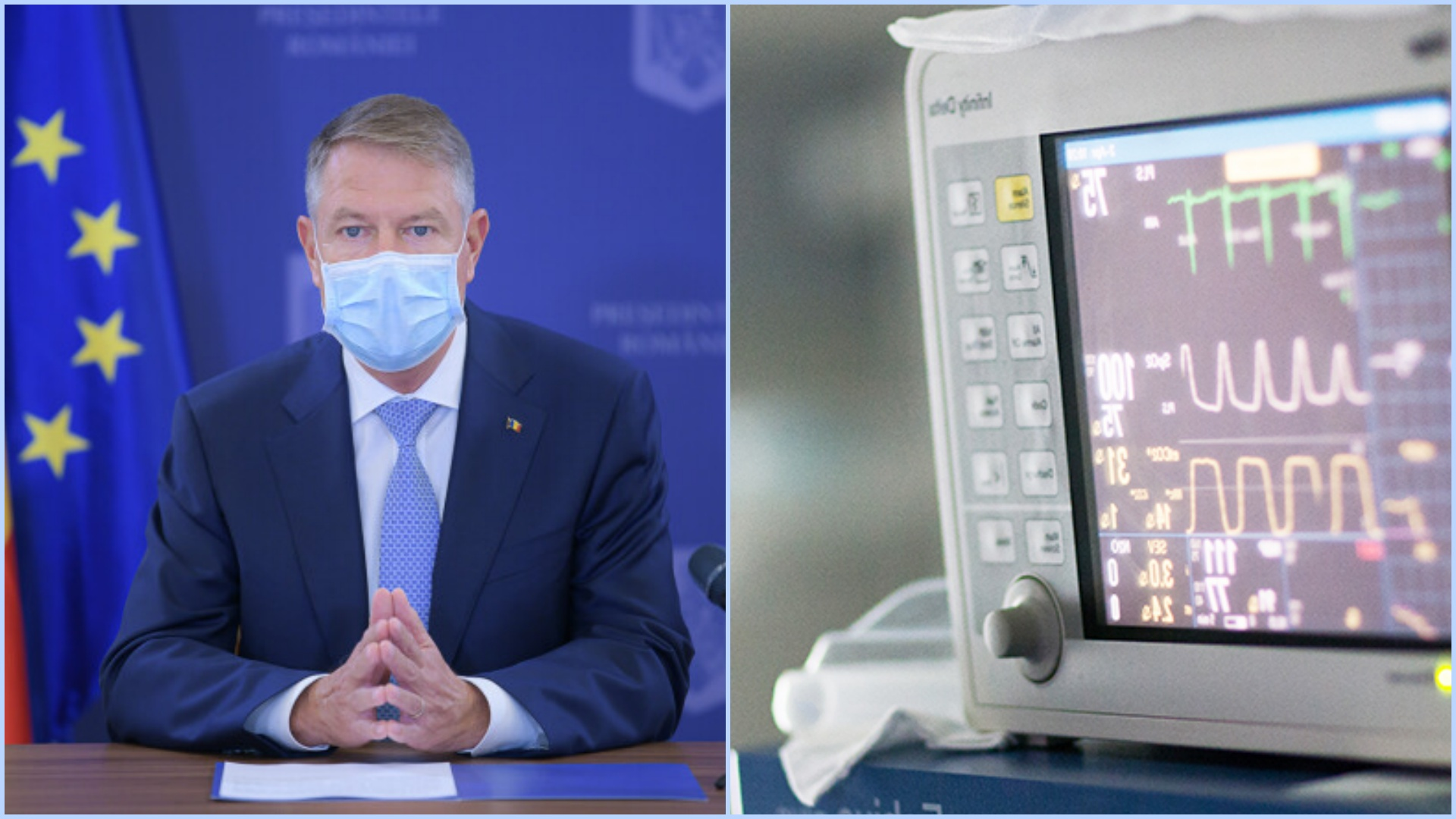 """Klaus Iohannis, noi declarații importante: """"Sunt decis să reconstruim sistemul sanitar"""""""