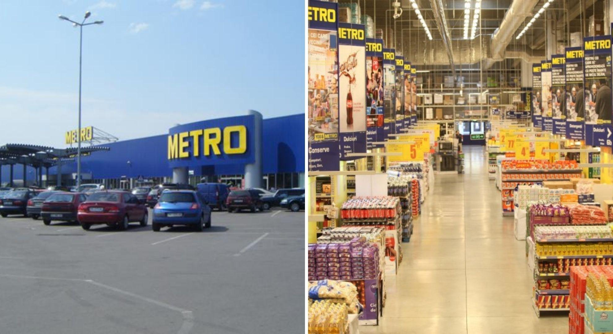 Metro a scos la vânzare 9 magazine din România. Oferta este colosală