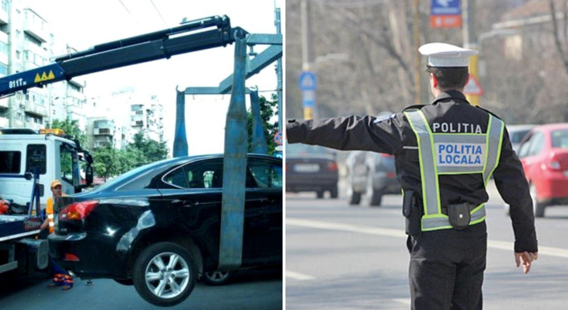 Ce se va întâmpla de acum cu mașinile parcate neregulamentar. Șoferii se vor supăra tare