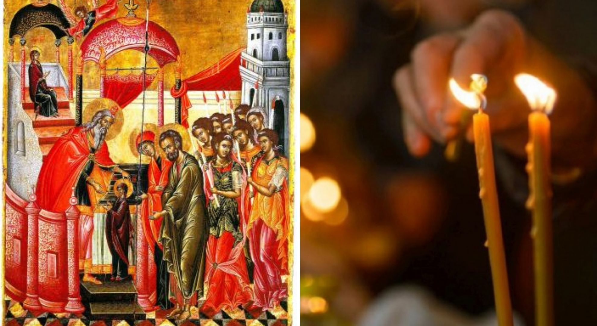 Intrarea în Biserică a Maicii Domnului. Sărbătoare cu cruce roșie la finalul acestei săptămâni