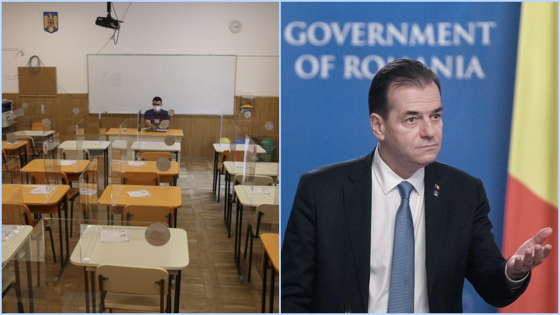 Când revin elevii la școală. Premierul Ludovic Orban a făcut anunțul