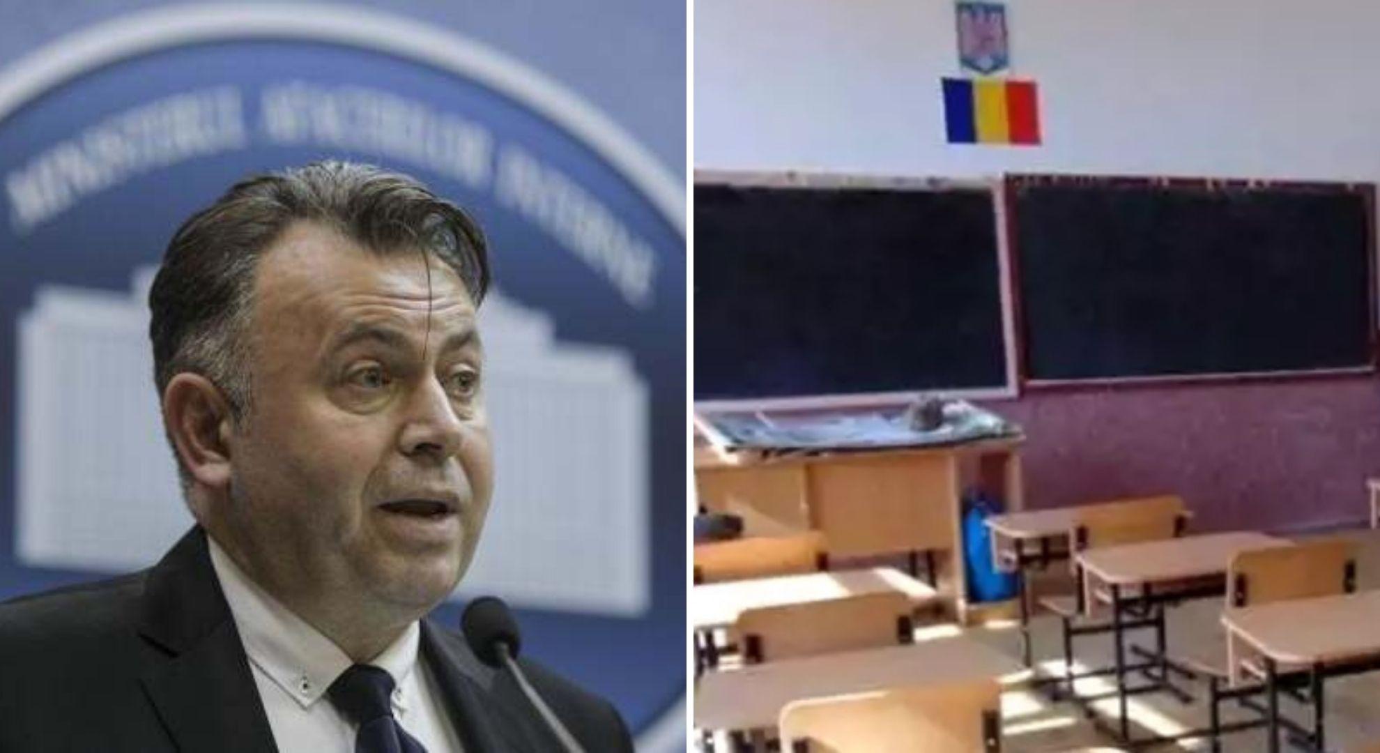 Ministrul Sănătății, anunț de ultimă oră despre redeschiderea școlilor