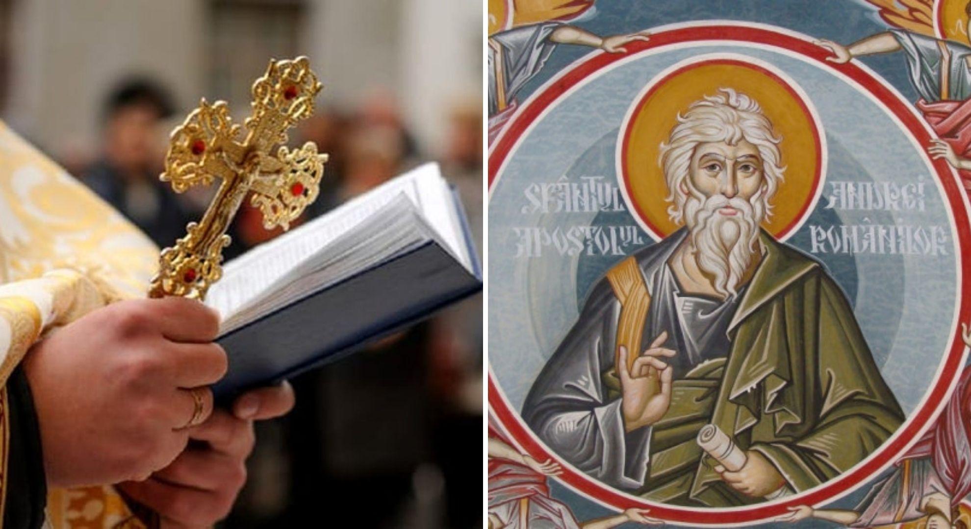 Calendar ortodox 30 noiembrie 2020. Este sărbătorit Sfântul Andrei - ocrotitorul românilor