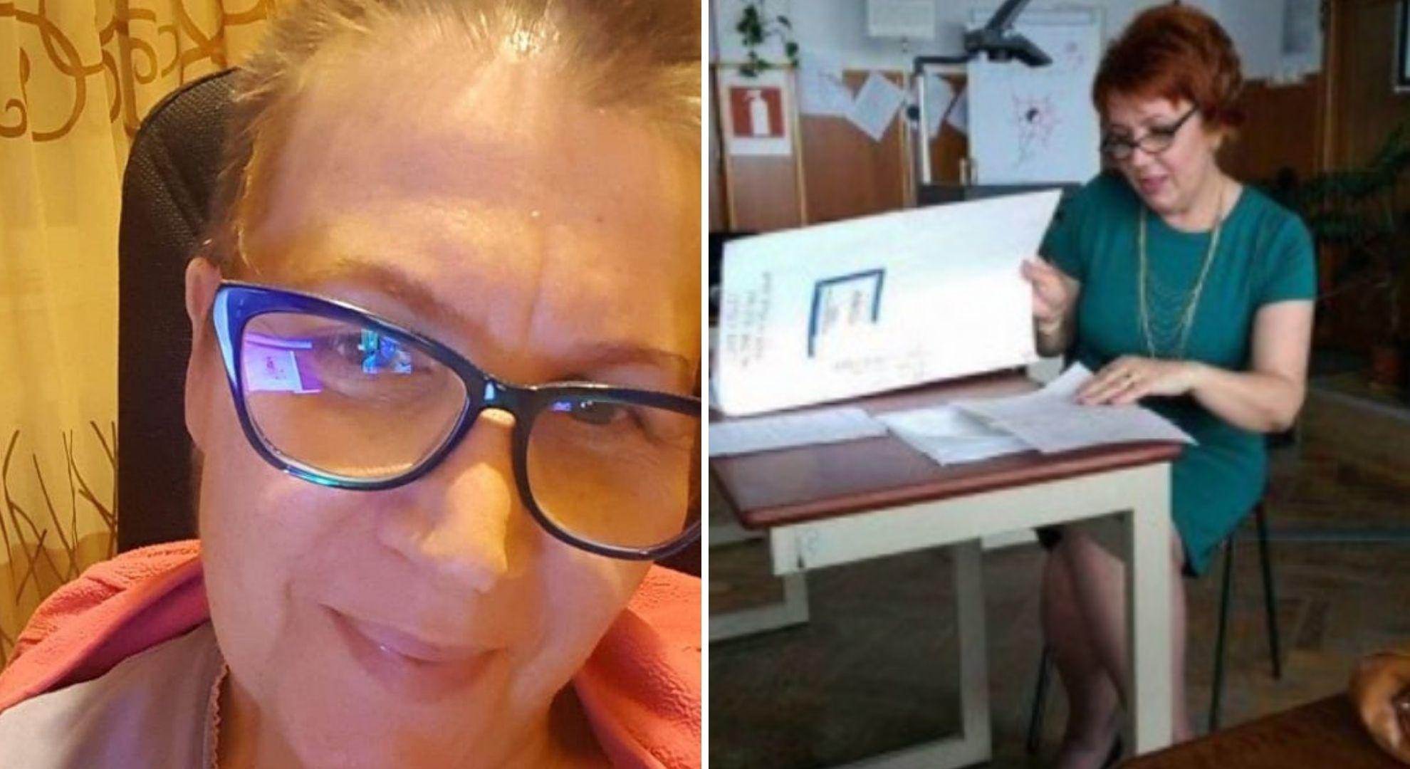 Povestea impresionantă a profesoarei care predă online printre ședințele de chimioterapie