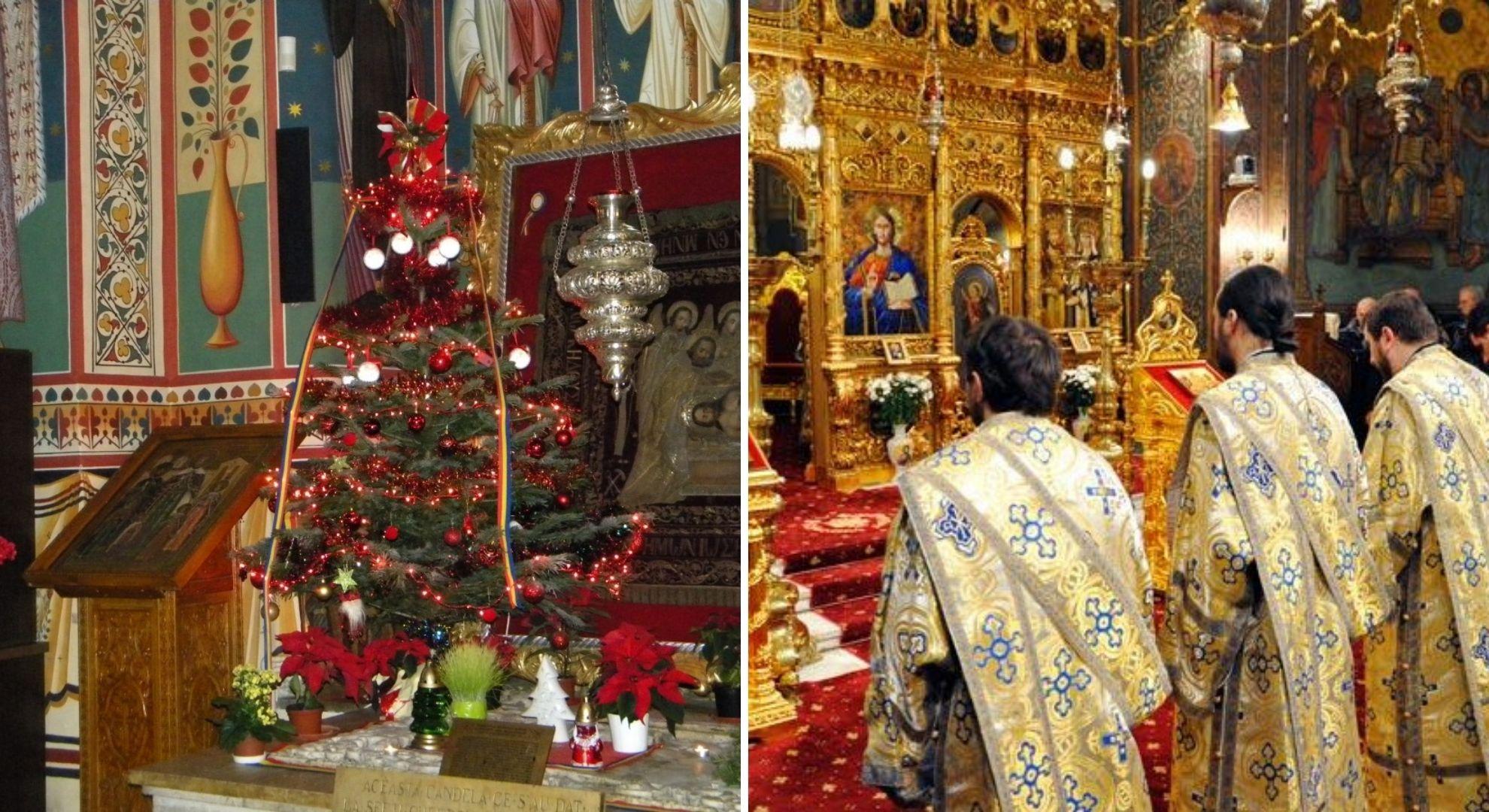 Slujbe de Crăciun în interior sau în exteriorul bisericilor? Credincioșii trebuie să afle asta