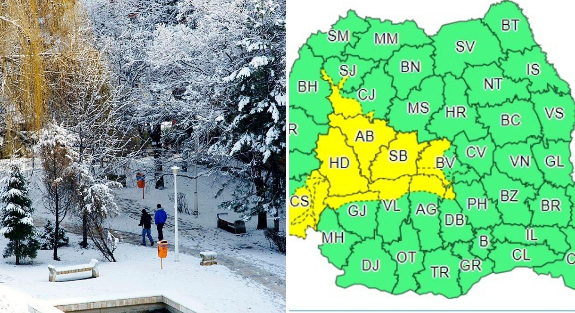 Prognoza meteo 21-22 noiembrie 2020. Temperaturi minime negative în toată țara