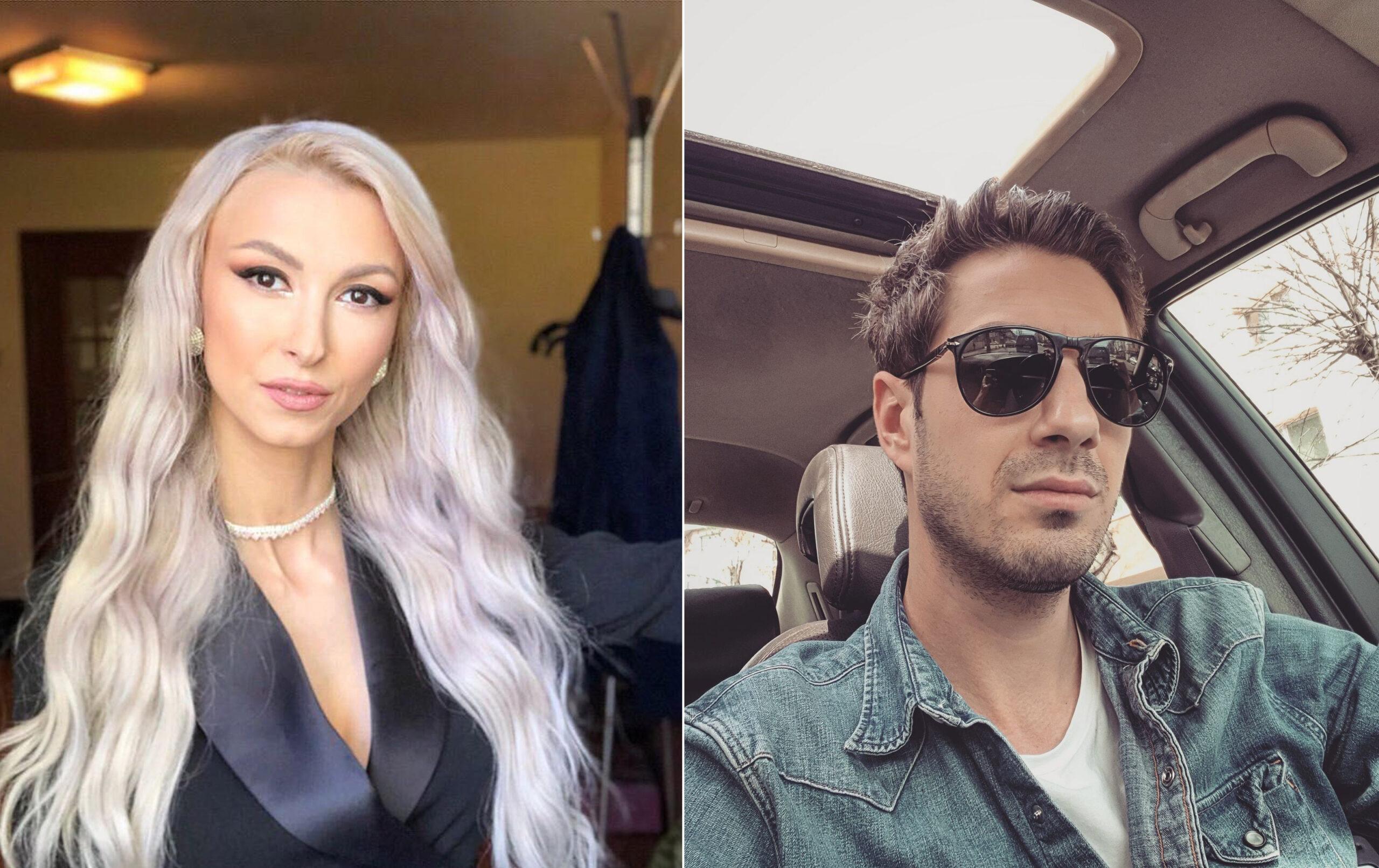 Andreea Bălan și Tiberiu Argint, mesaje pe Instagram. Ce au observat fanii