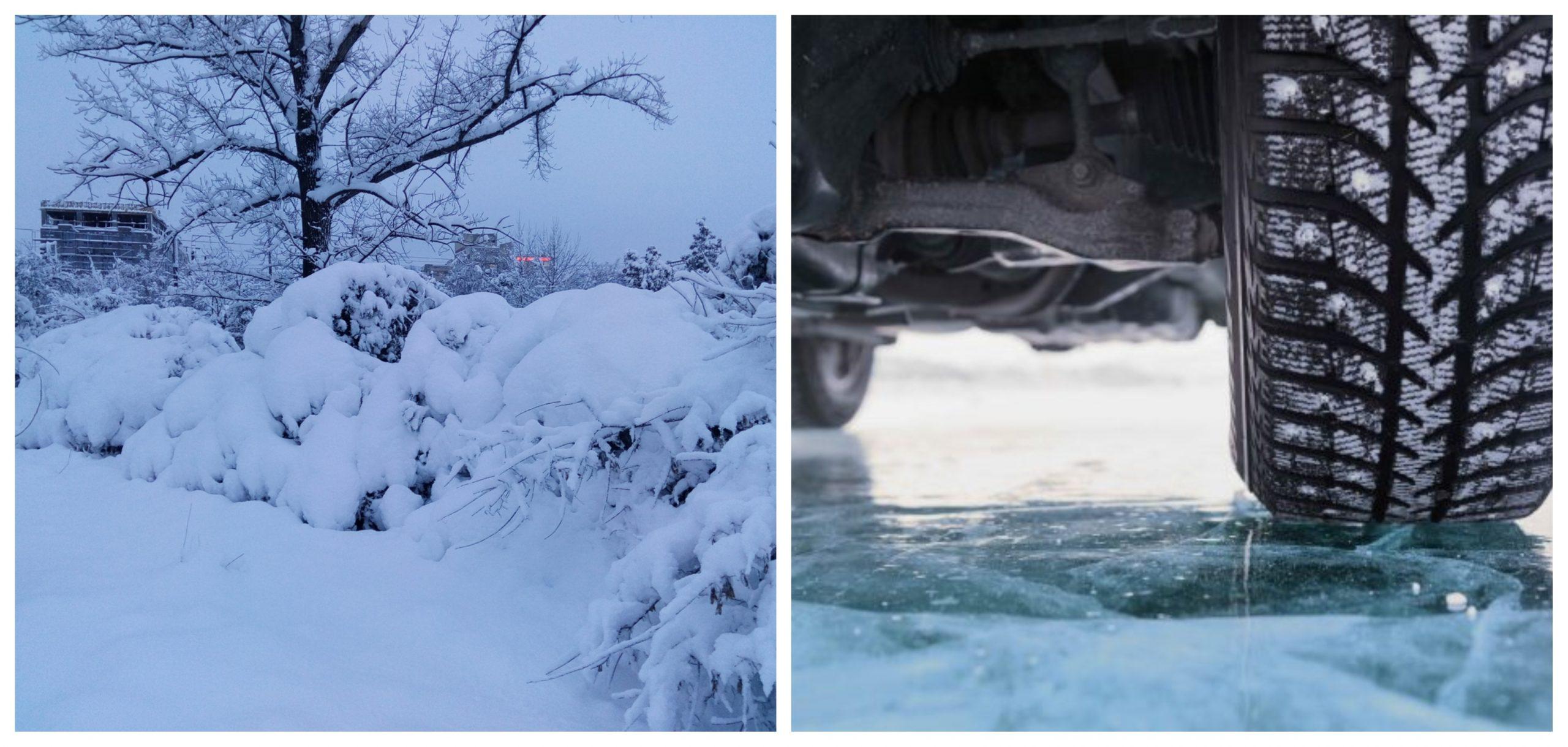 Avertisment de vreme rea, zăpadă și polei. Recomandările Poliției pentru șoferi