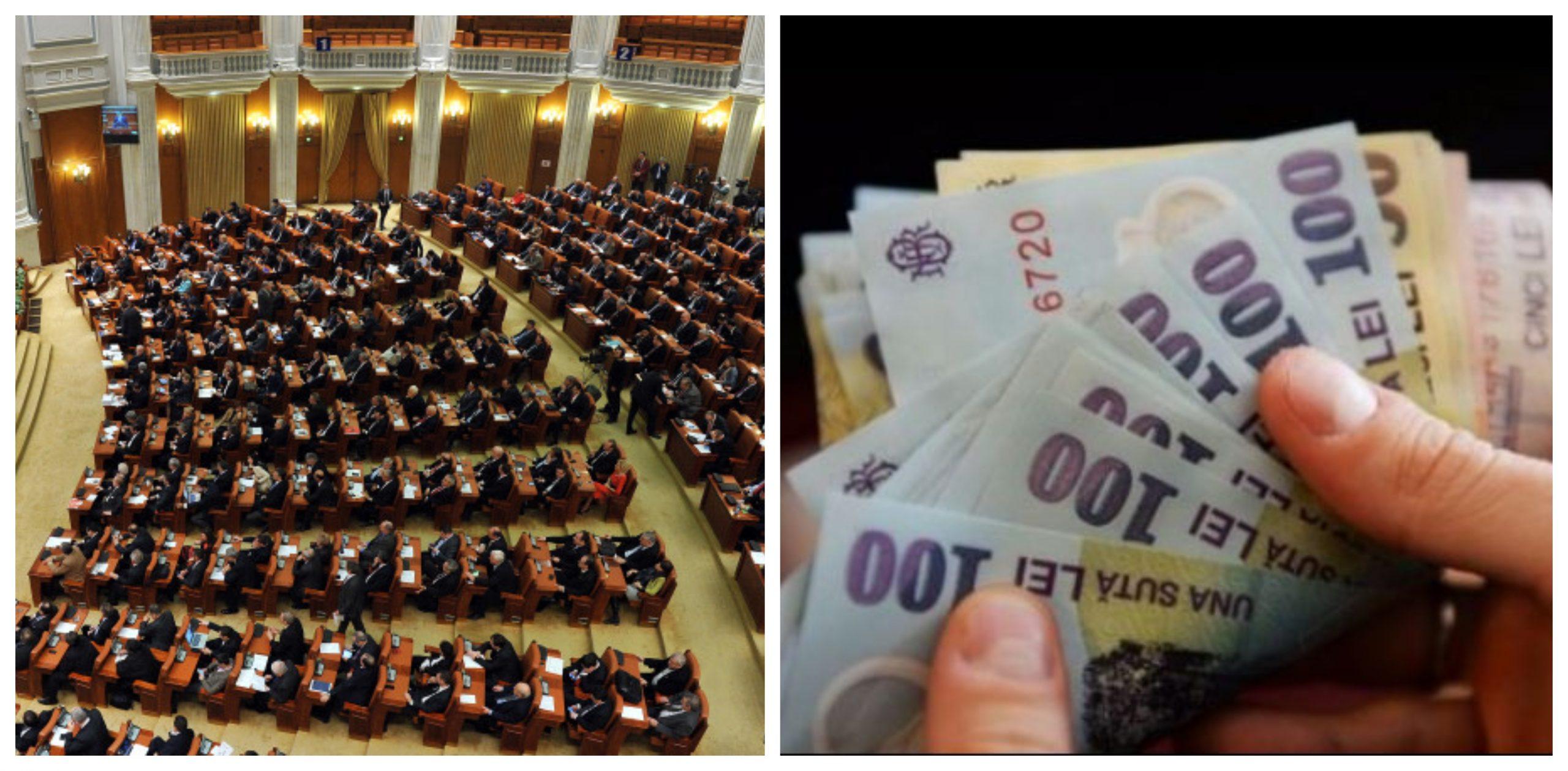 Ce salariu are un parlamentar. Cat castiga deputatii si senatorii alesi astazi