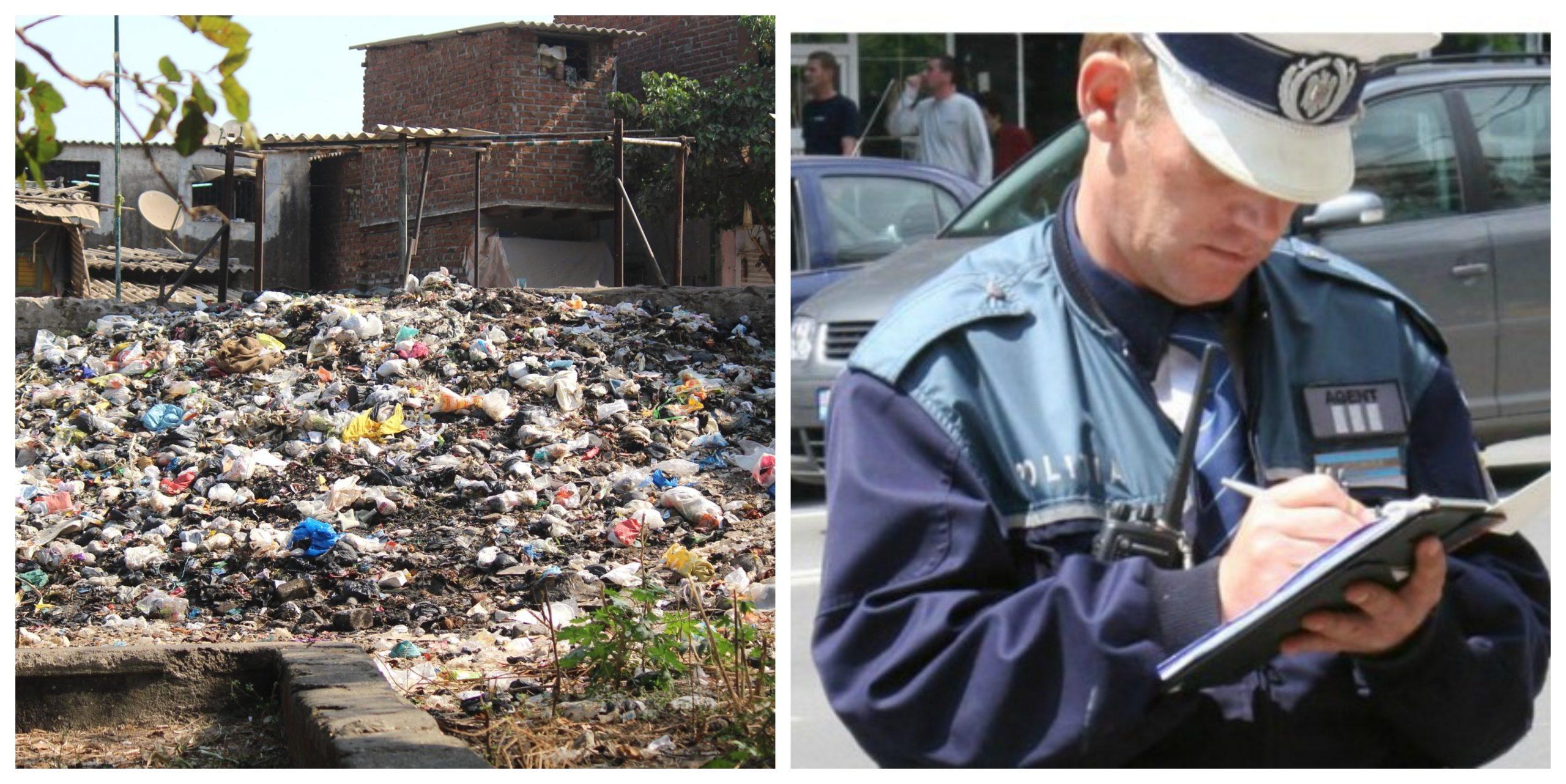 Ce se întâmplă dacă ai gunoaie în curte. S-a aprobat legea care le permite primăriilor să intre cu forța pe proprietatea ta