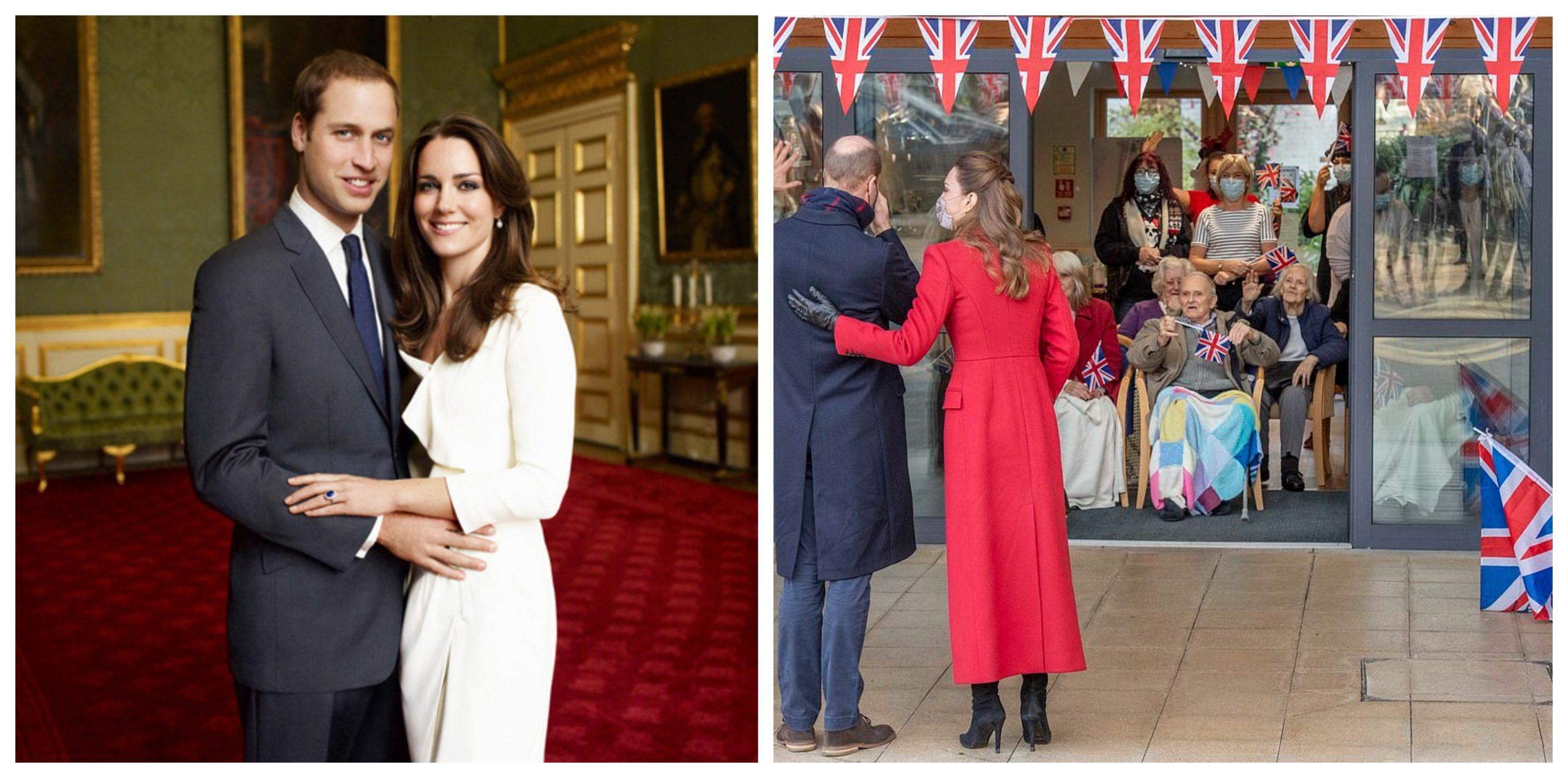 Kate Middleton și prințul William au început călătoria cu trenul. Ce surpriză le-au făcut vârstnicilor de la un azil