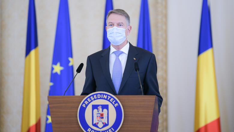 Klaus Iohannis a transmis un mesaj de sărbători. Ce le-a zis președintele românilor