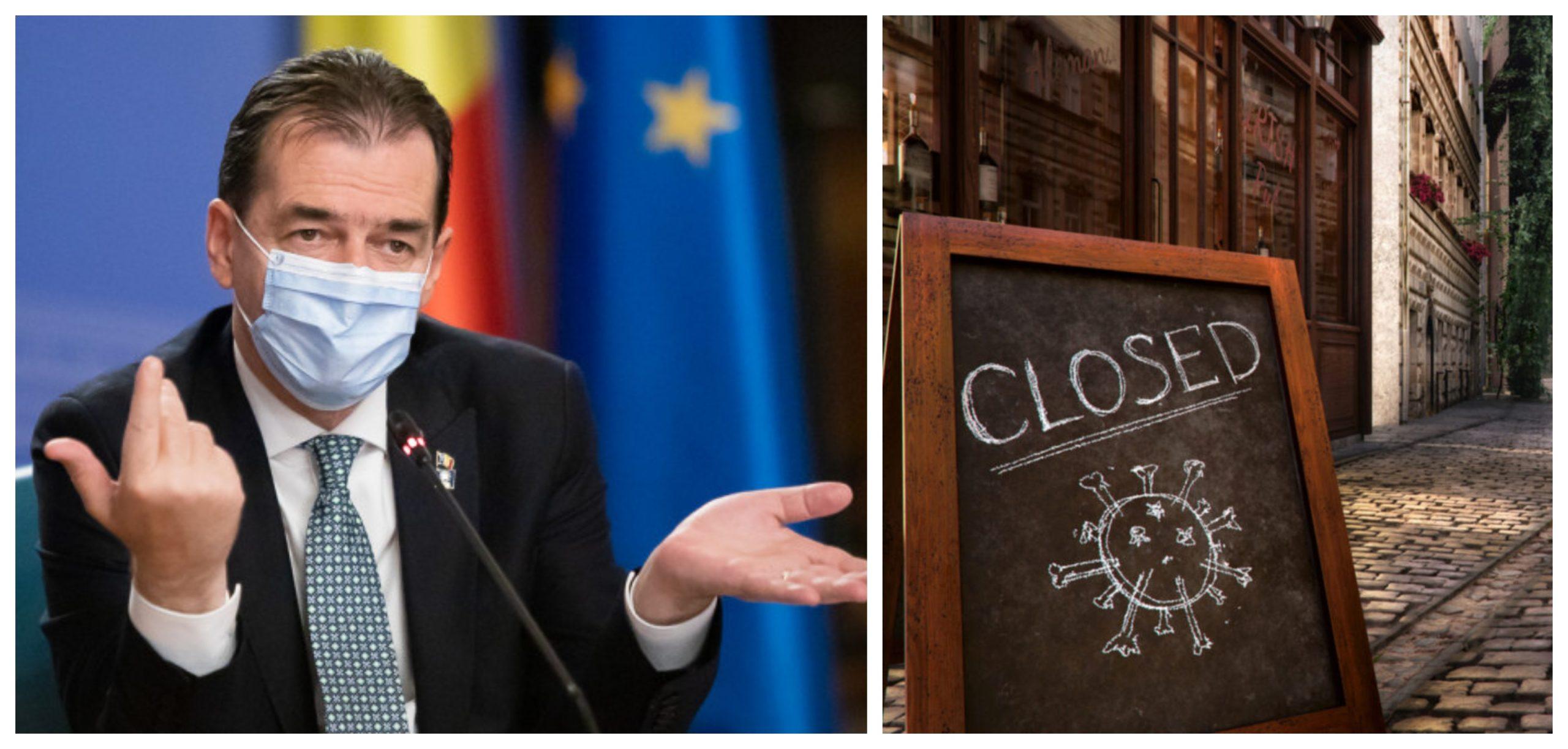 Ludovic Orban, anunț important! Intră sau nu România în lockdown după alegeri