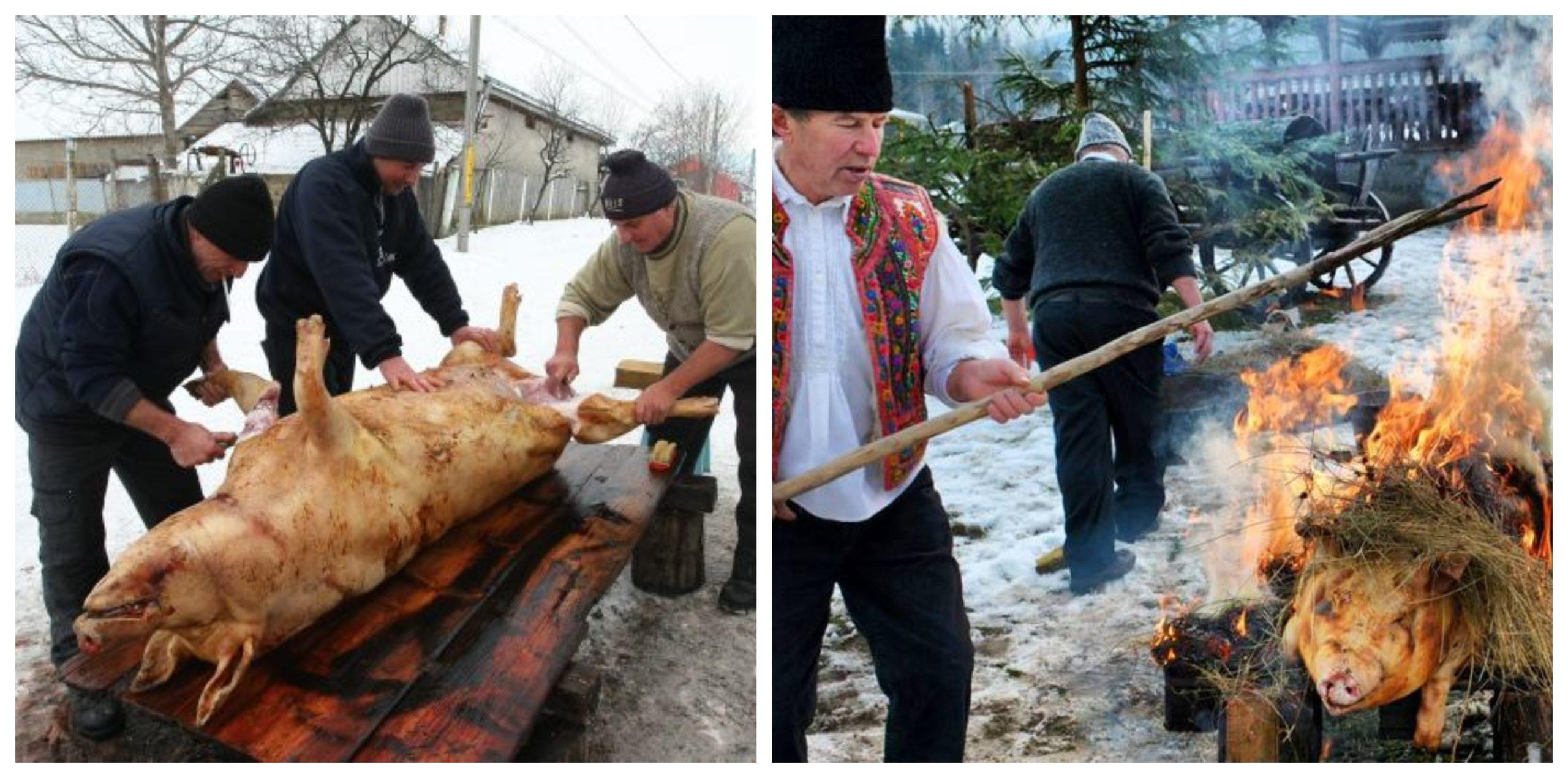 Când ese Ignatul, sărbătoarea când se sacrifică, de obicei, porcii