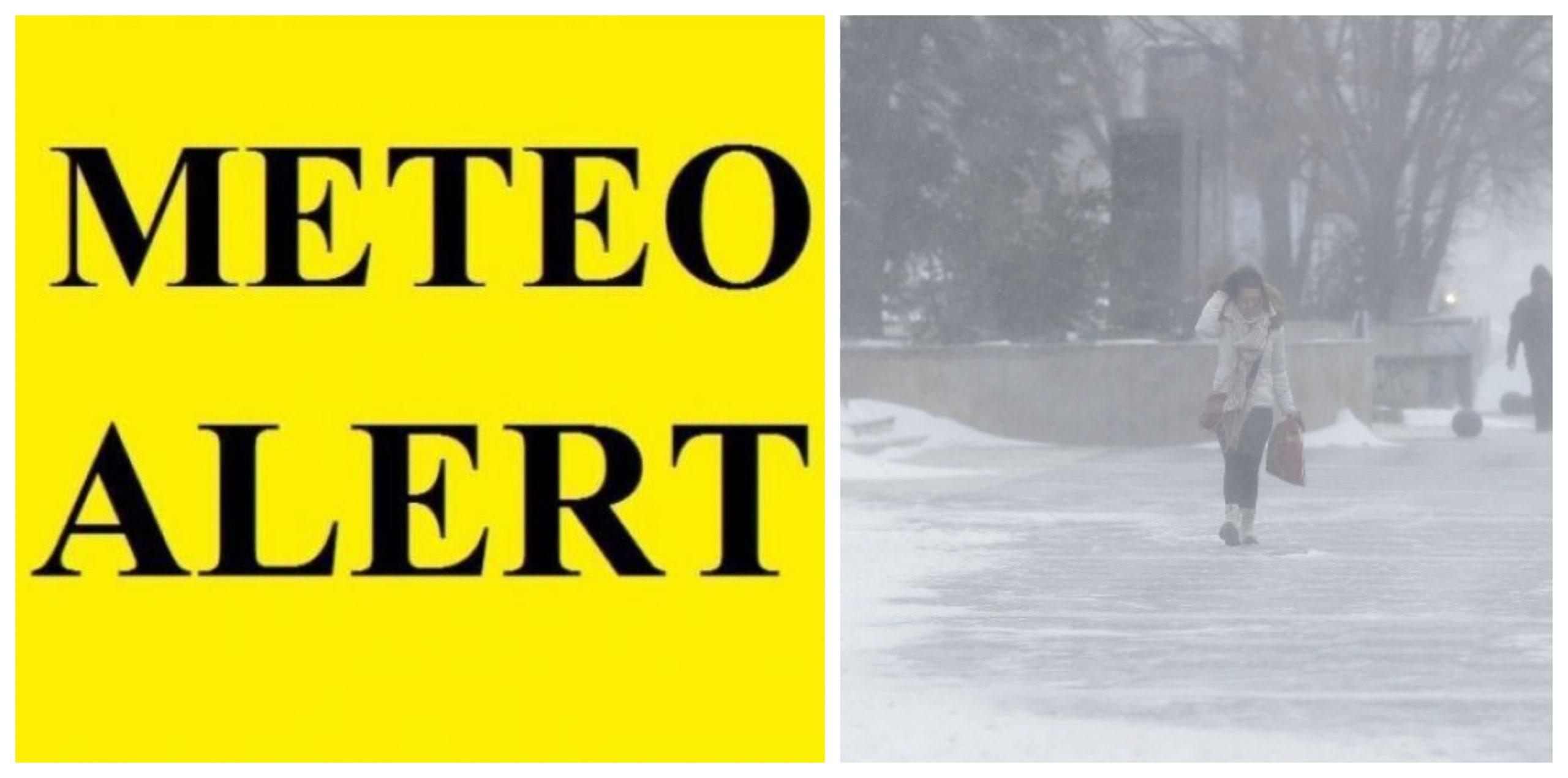 Vreme rea în toată țara! Cod galben de ninsori și viscol