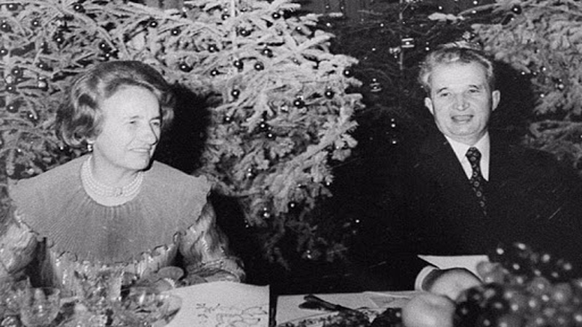 Curiozități despre soții Ceaușescu. Cum sărbătoreau de Crăciun