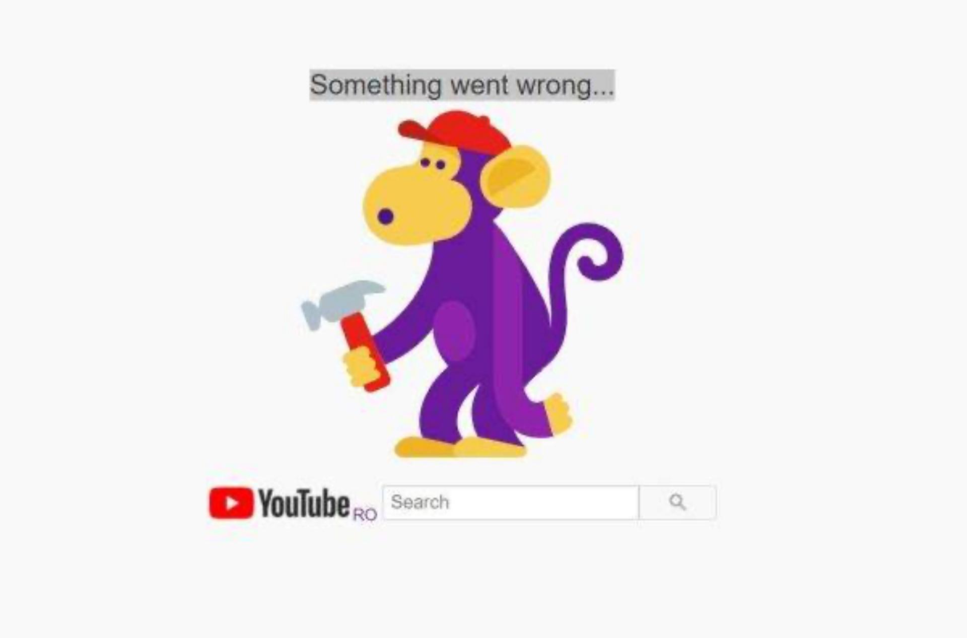 Toate serviciile Google au picat în România