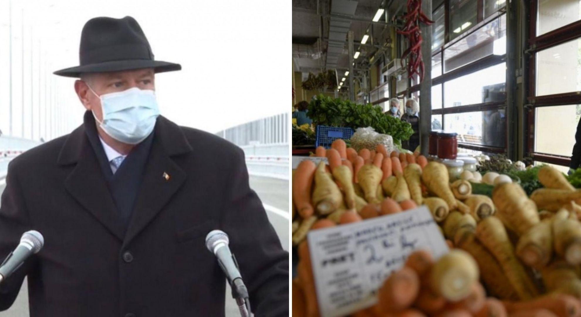 """Klaus Iohannis a făcut anunțul mult așteptat: """"Se redeschid piețele"""""""